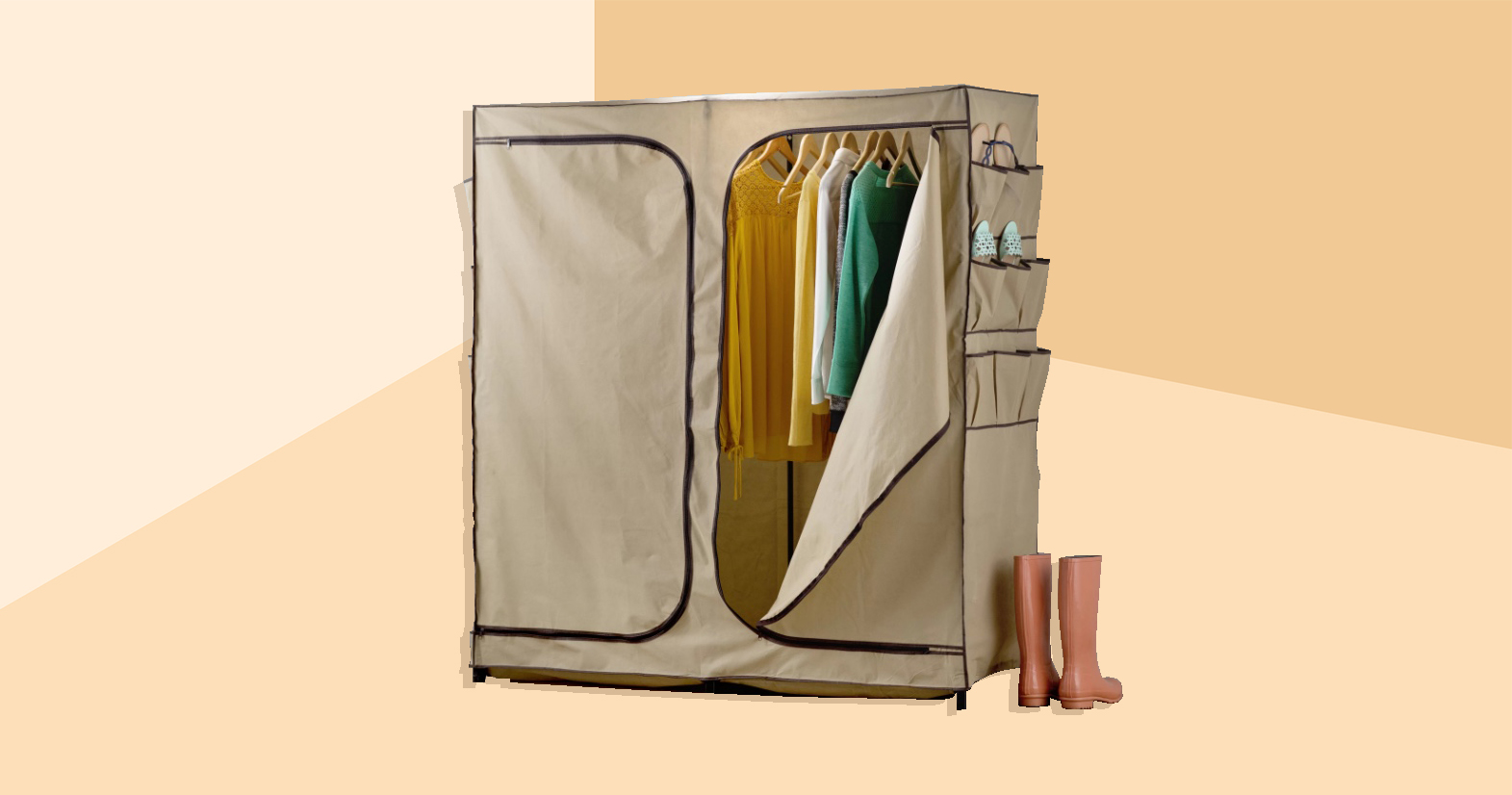 12 Portable Closets for When You're Short on Storage Space