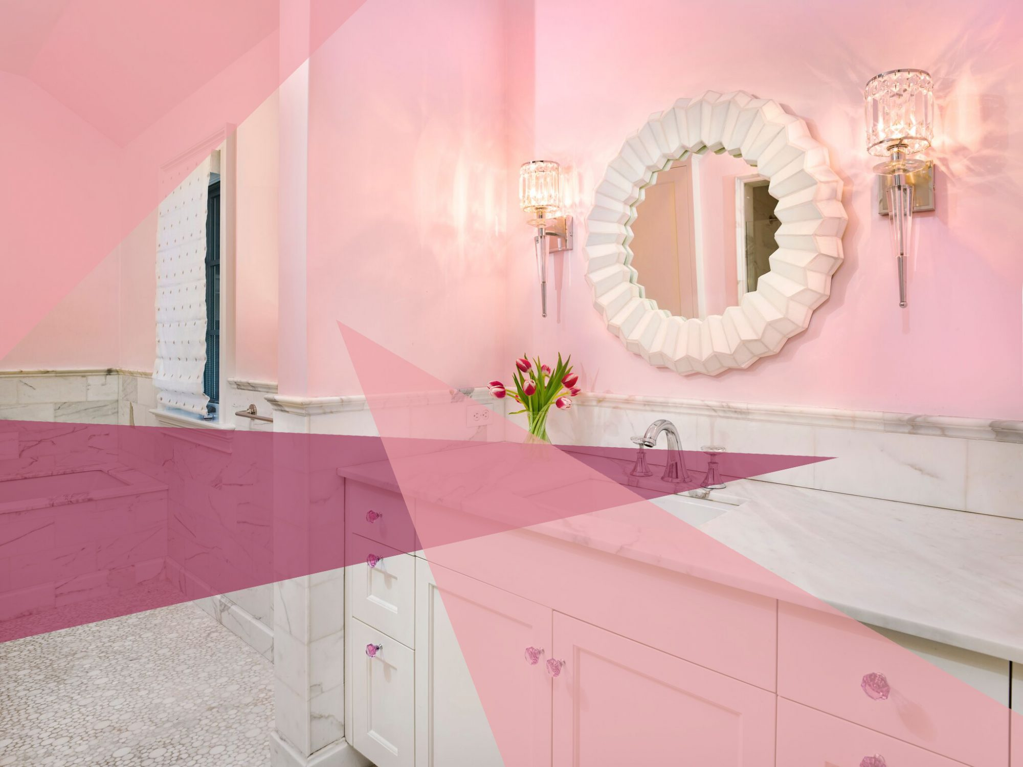 best-bathroom-paint-colors-cotton-candy