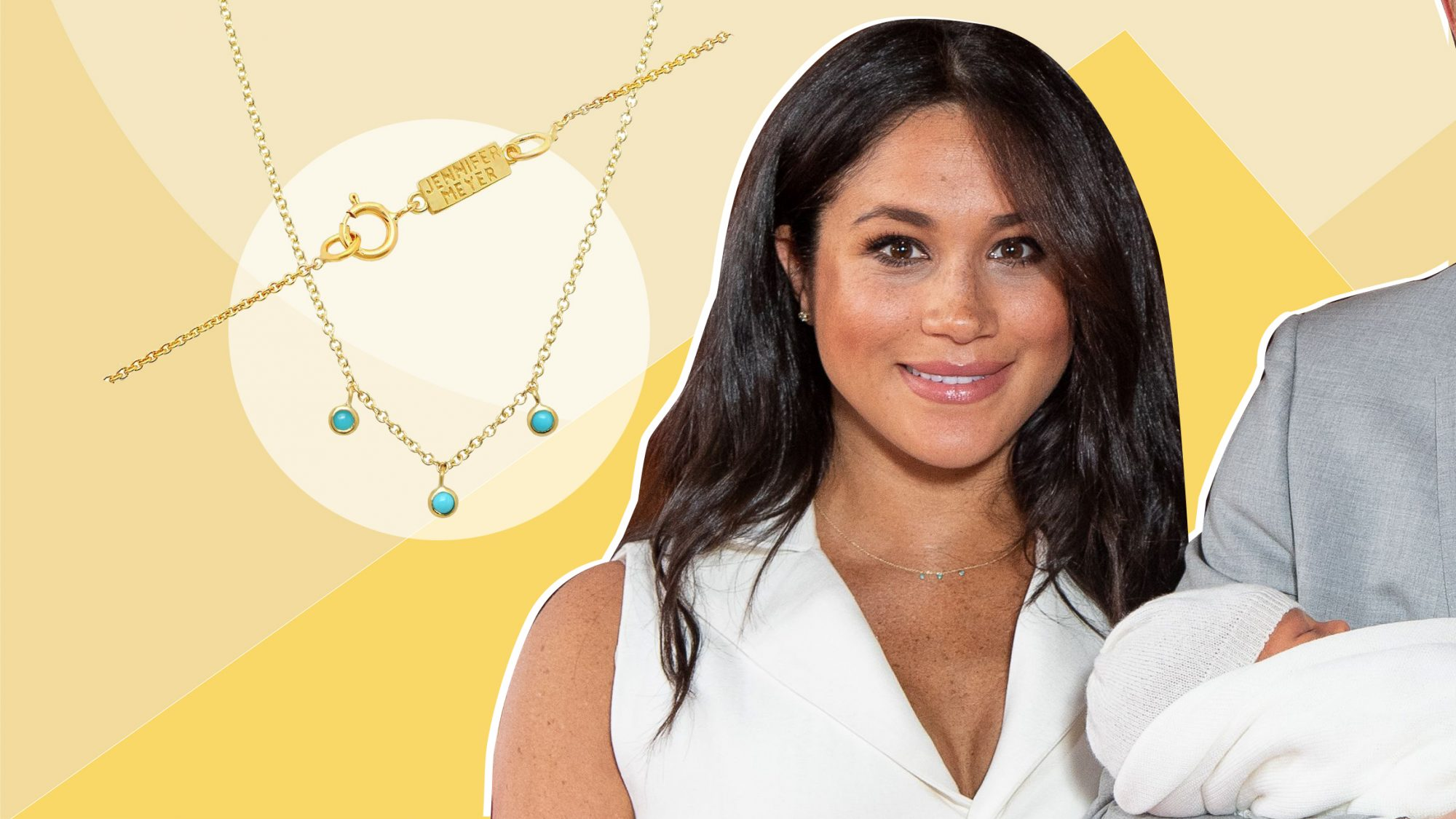 Meghan Markle's Newest Necklace Is a Sentimental Nod to Her Family of 3