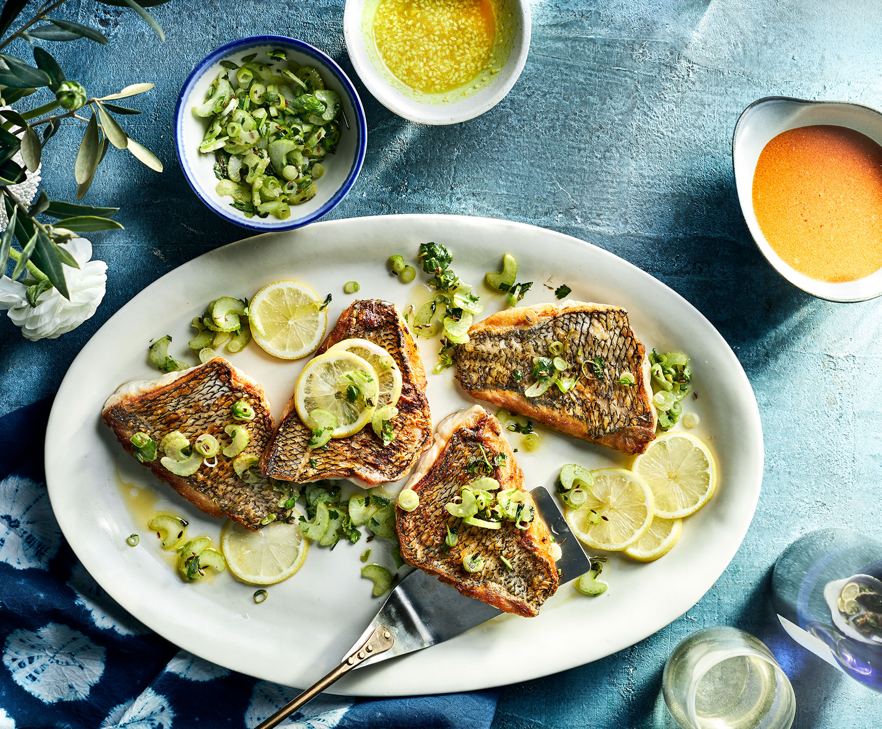 Crispy-Skinned Fish Fillets Recipe