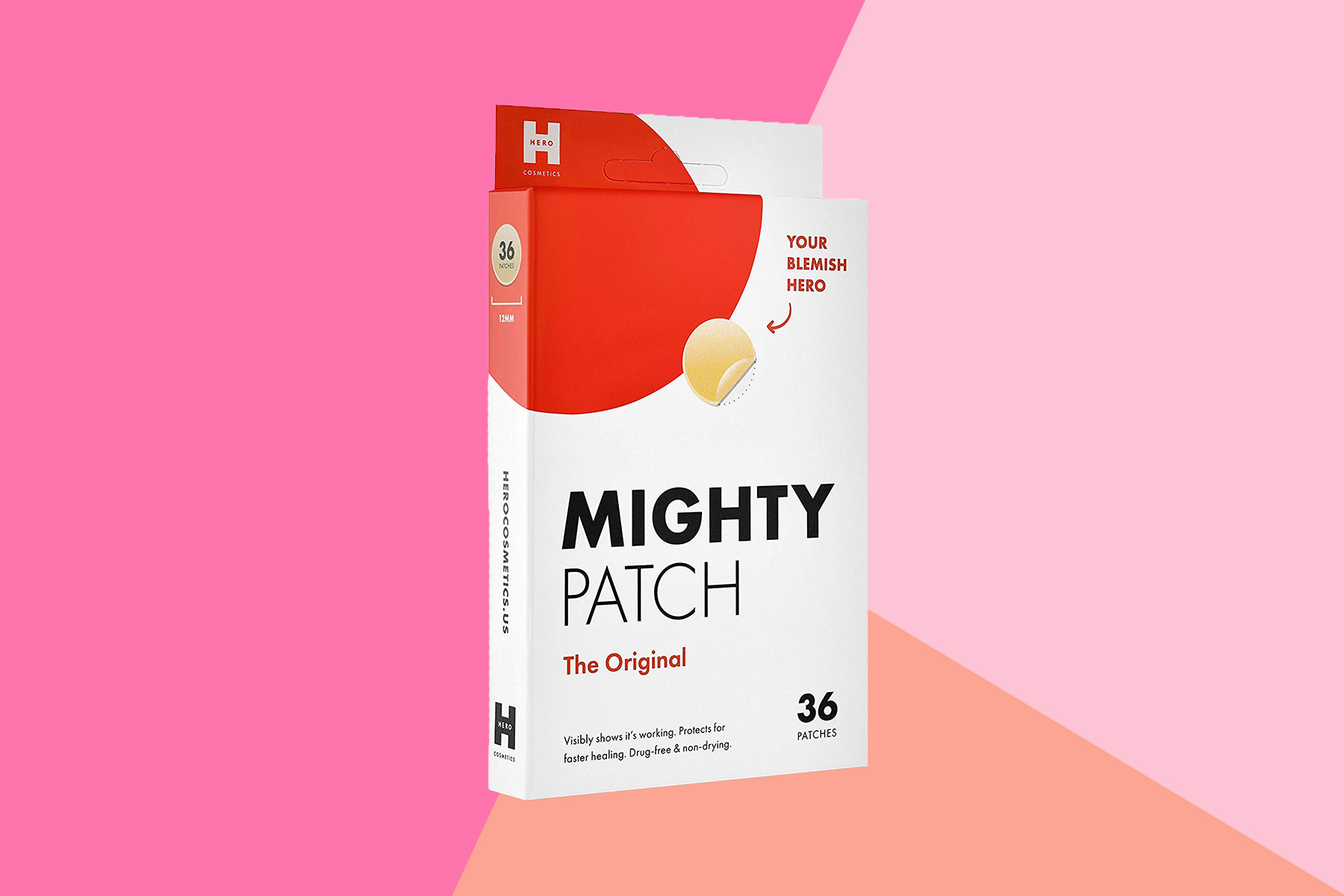 Hero Cosmetics Mighty Patch Acne Pimple Patch Spot Treatment Review