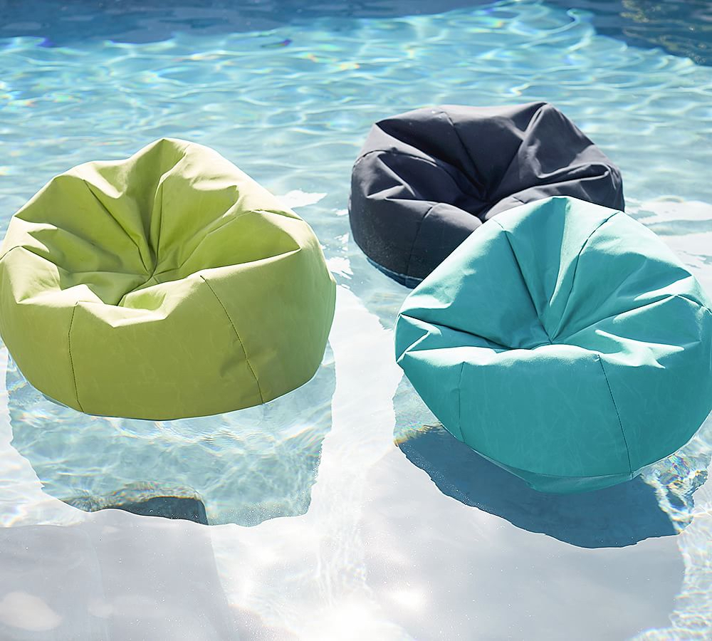 Pottery Barn Is Selling Bean Bag Pool Floats For Your Chillest Summer Ever
