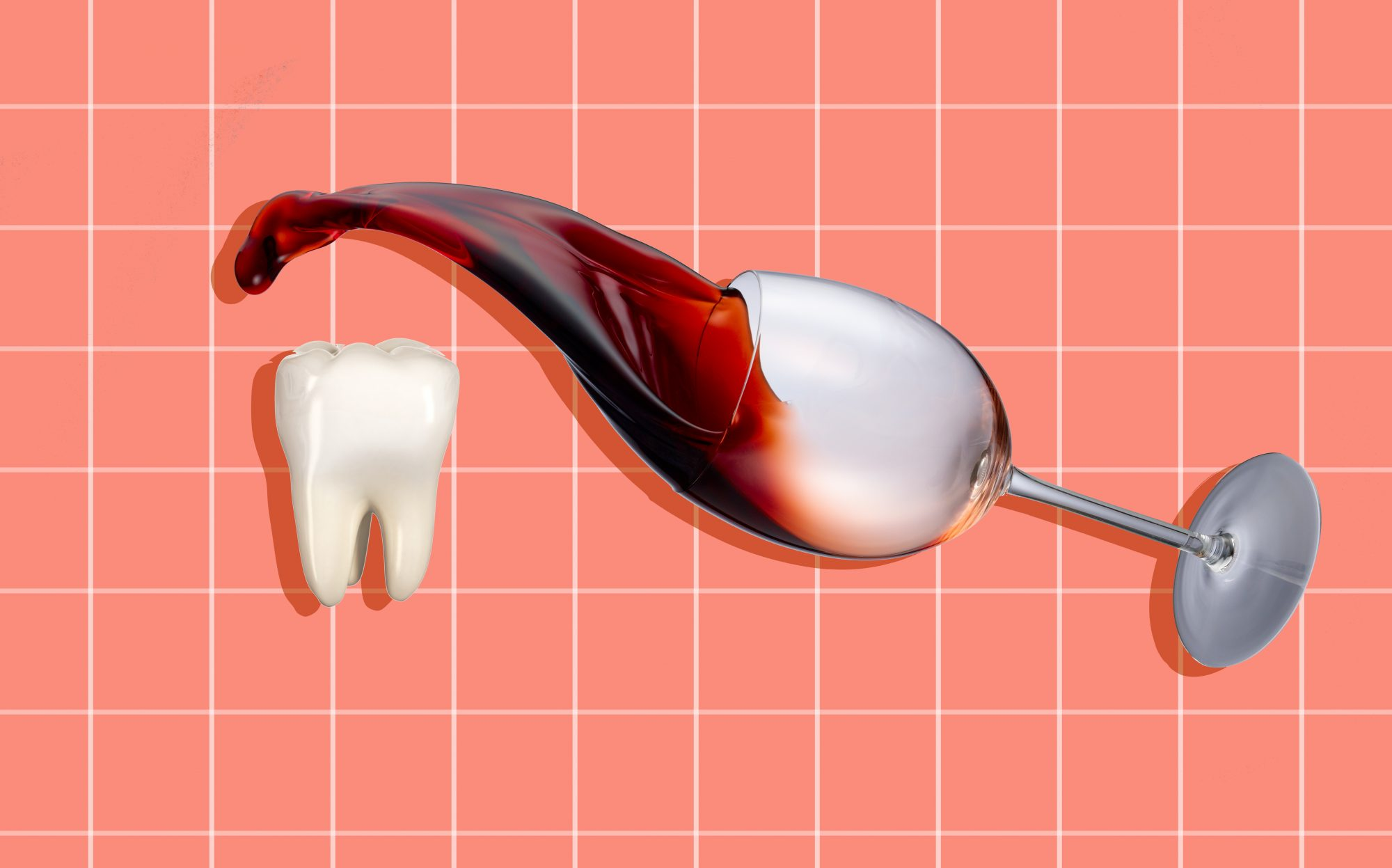 7 Clever Tricks for Keeping Your Teeth Free From Wine Stains, According to a Dentist