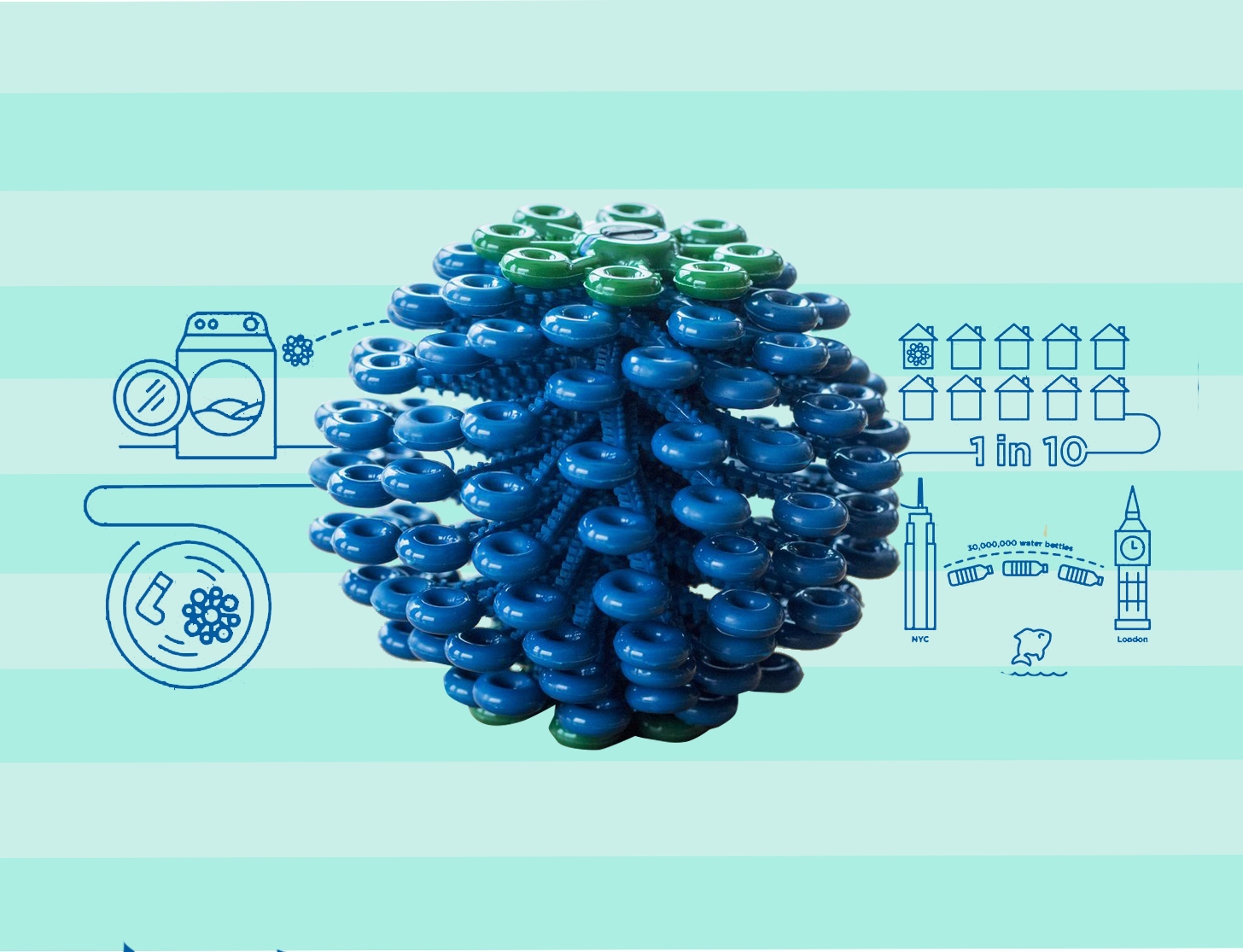 Good News, Microfiber Cleaning Cloth Fans: This Laundry Ball Keeps Microfibers Out of the Ocean