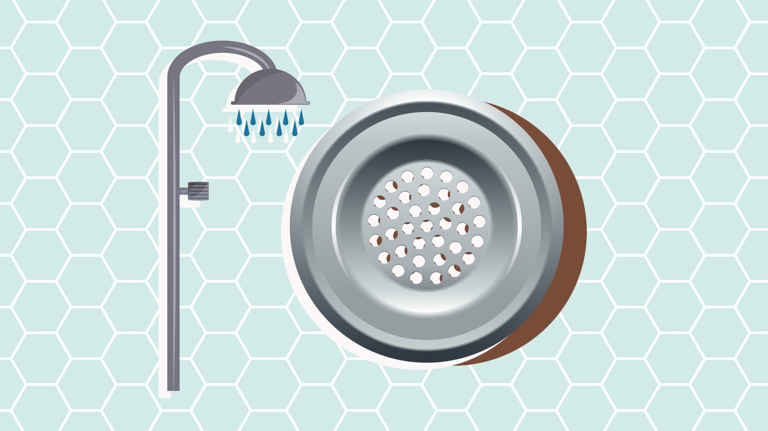 This Is Why Your Shower Drain Smells (Plus, How to Clean It)