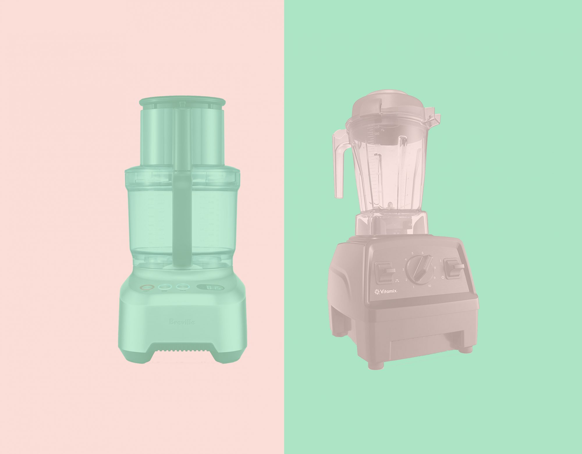 When to Use a Blender Versus a Food Processor, According to Kitchen Appliance Experts