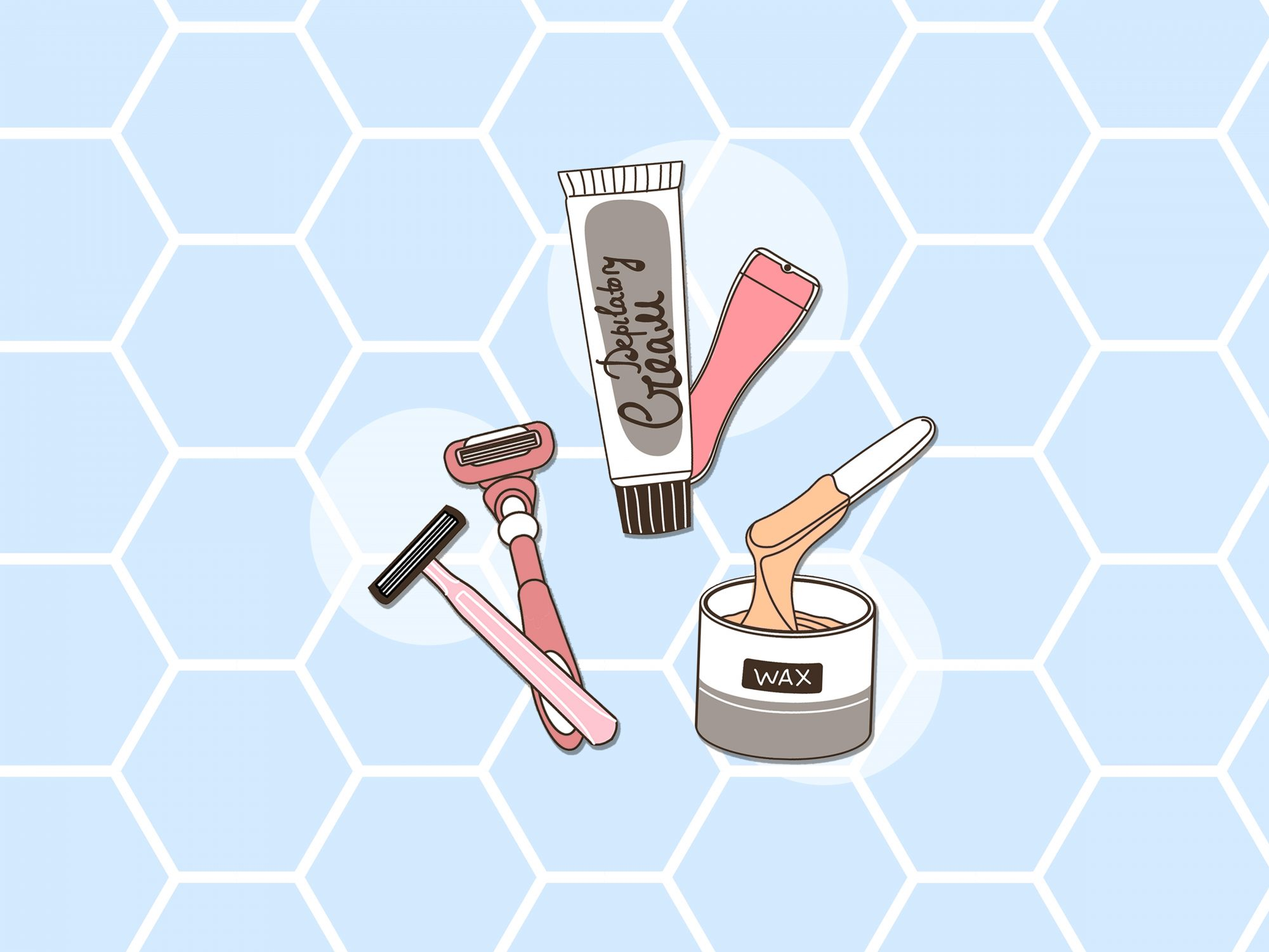 Should You Shave, Wax, or Laser Away Unwanted Hair? A Breakdown of All Your Hair Removal Options
