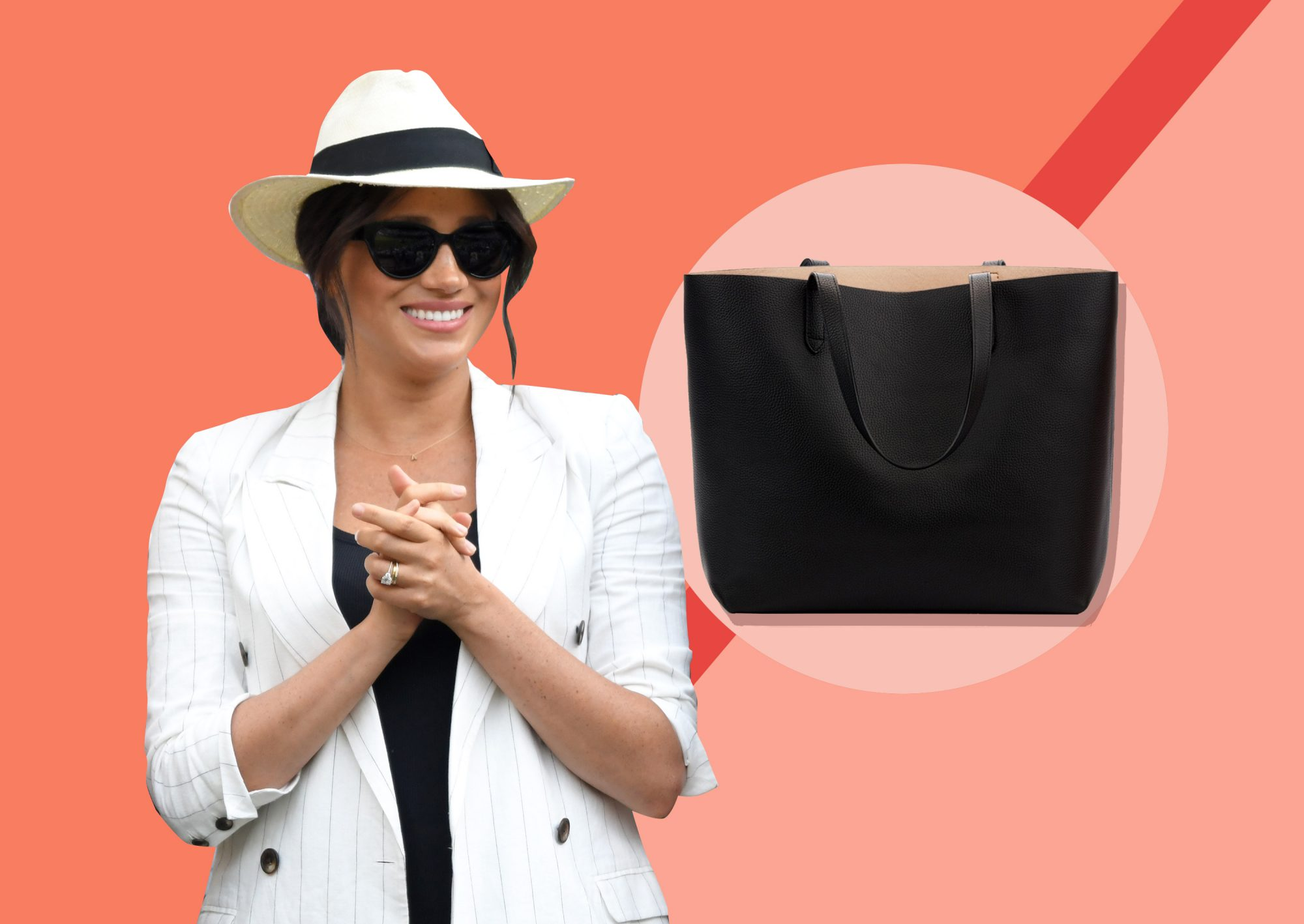 Meghan Markle's Black Tote Bag Is the Classic Catch-All You Need