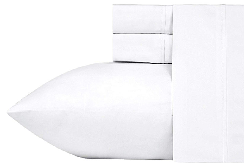California Design Den 400-Thread-Count Cotton Queen Four-Piece Sheet Set