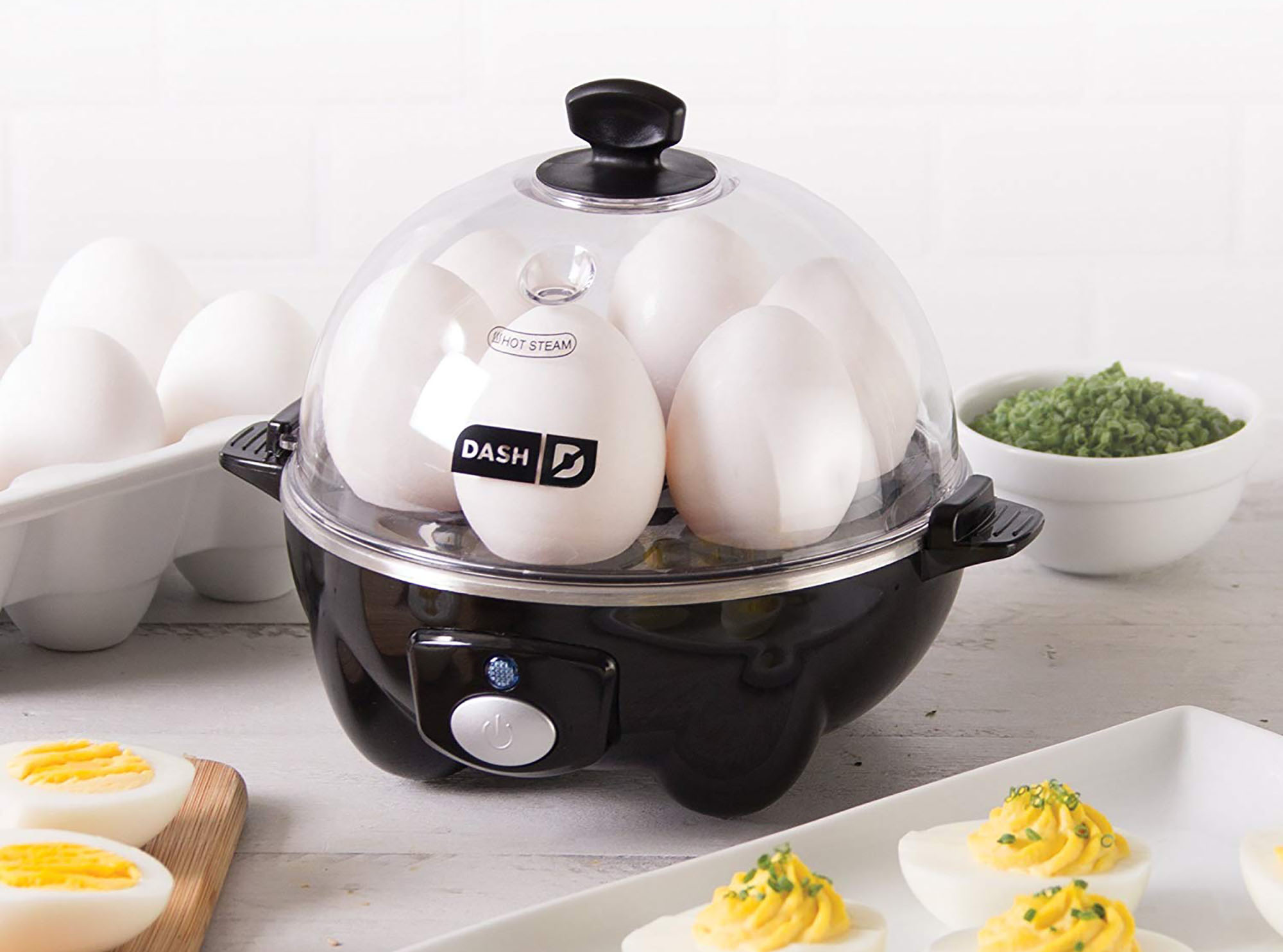 This Brilliant Egg Cooker Solves All Your Egg Making Woes—And It's Still on Sale for Prime Day