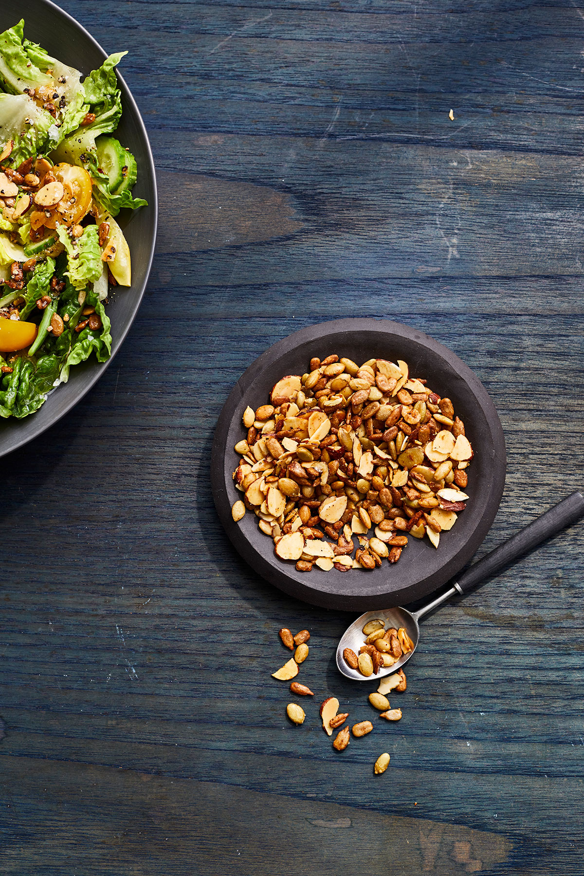 Spicy Almond-and-Seed Salad Topper Recipe