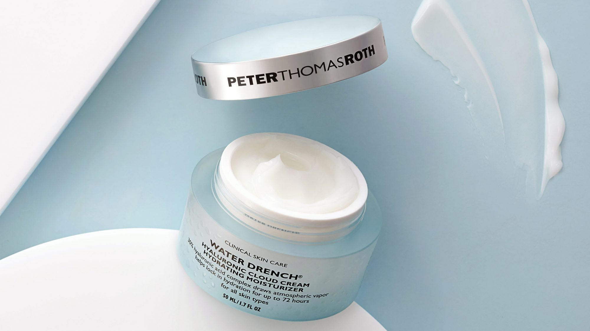 Peter Thomas Roth Water Drench Hyaluronic Cloud Cream Hydrating Face Moisturizer