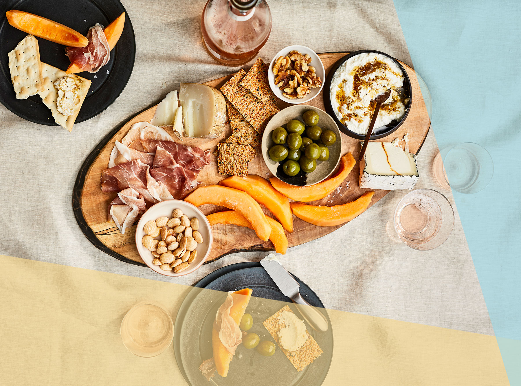 These Pretty Grazing Platters Are the Secret to Easy, Breezy Summer Entertaining