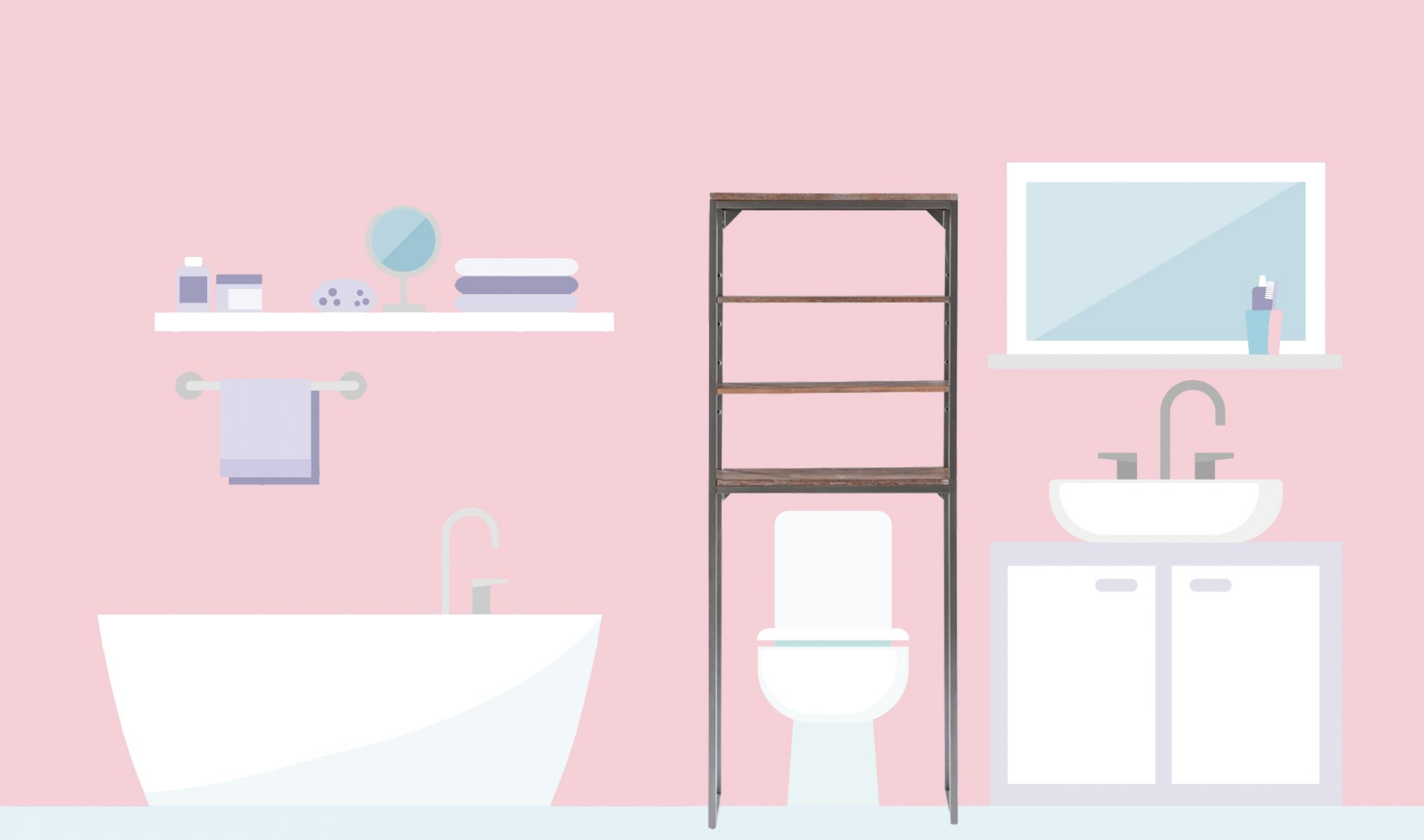 5 Ways to Maximize Your Bathroom's Over-the-Toilet Storage