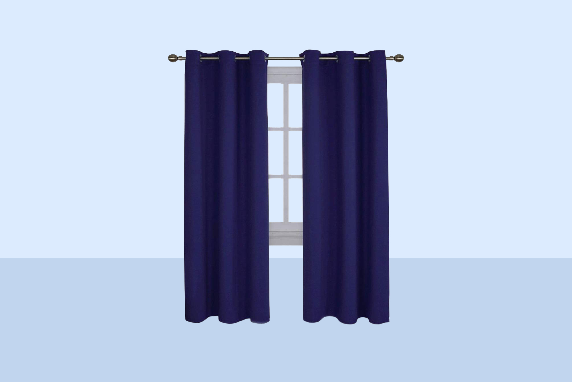 Nicetown Energy-Saving Insulated Blackout Curtains
