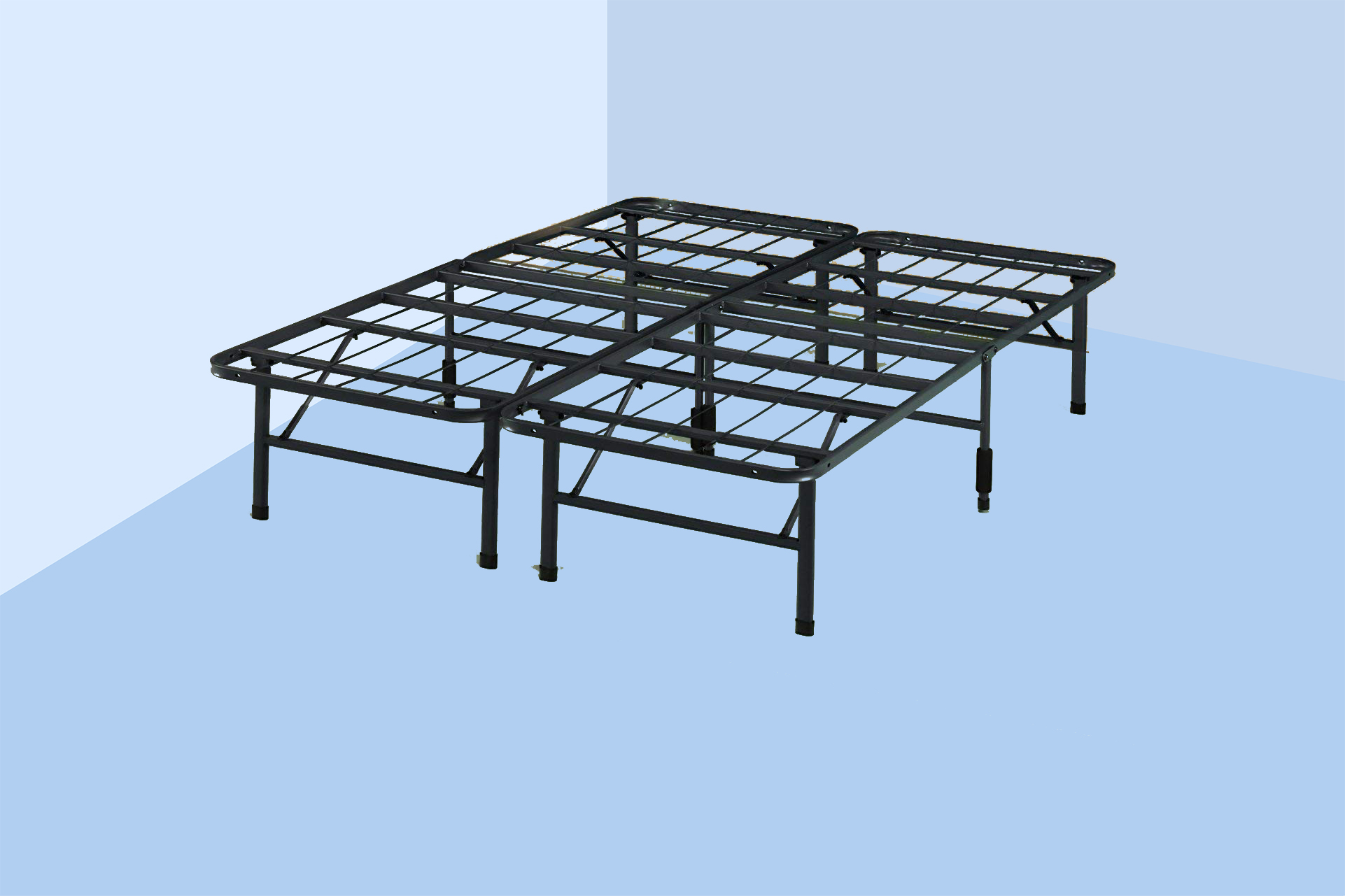 This Best-Selling Bed Frame Saves Me So Much Space With Its