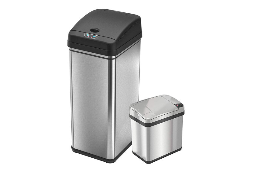 iTouchless 13 Gallon and 2.5 Gallon Sensor Trash Cans - Embed