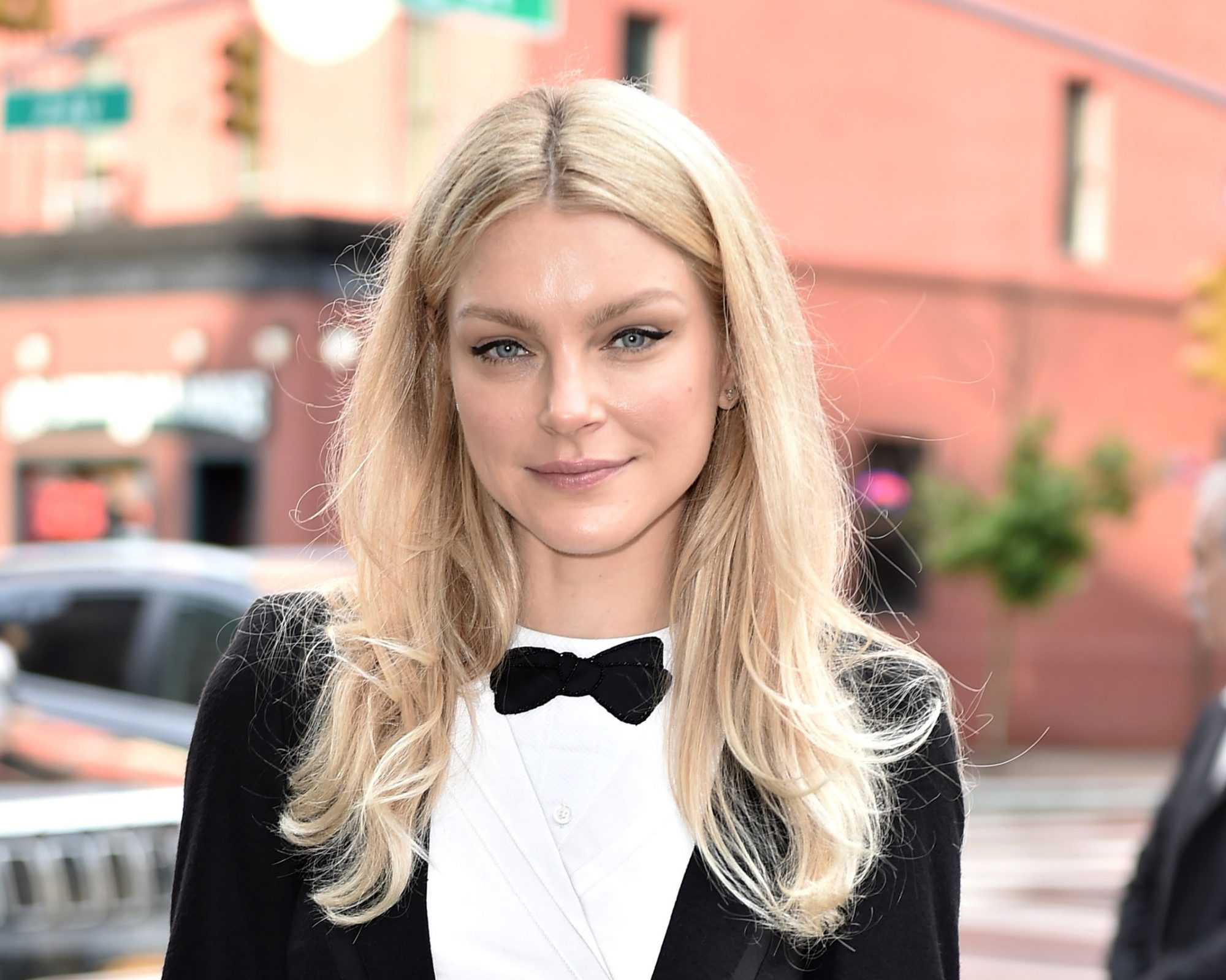 Cool Baby Blonde Hair Color Jessica Stam