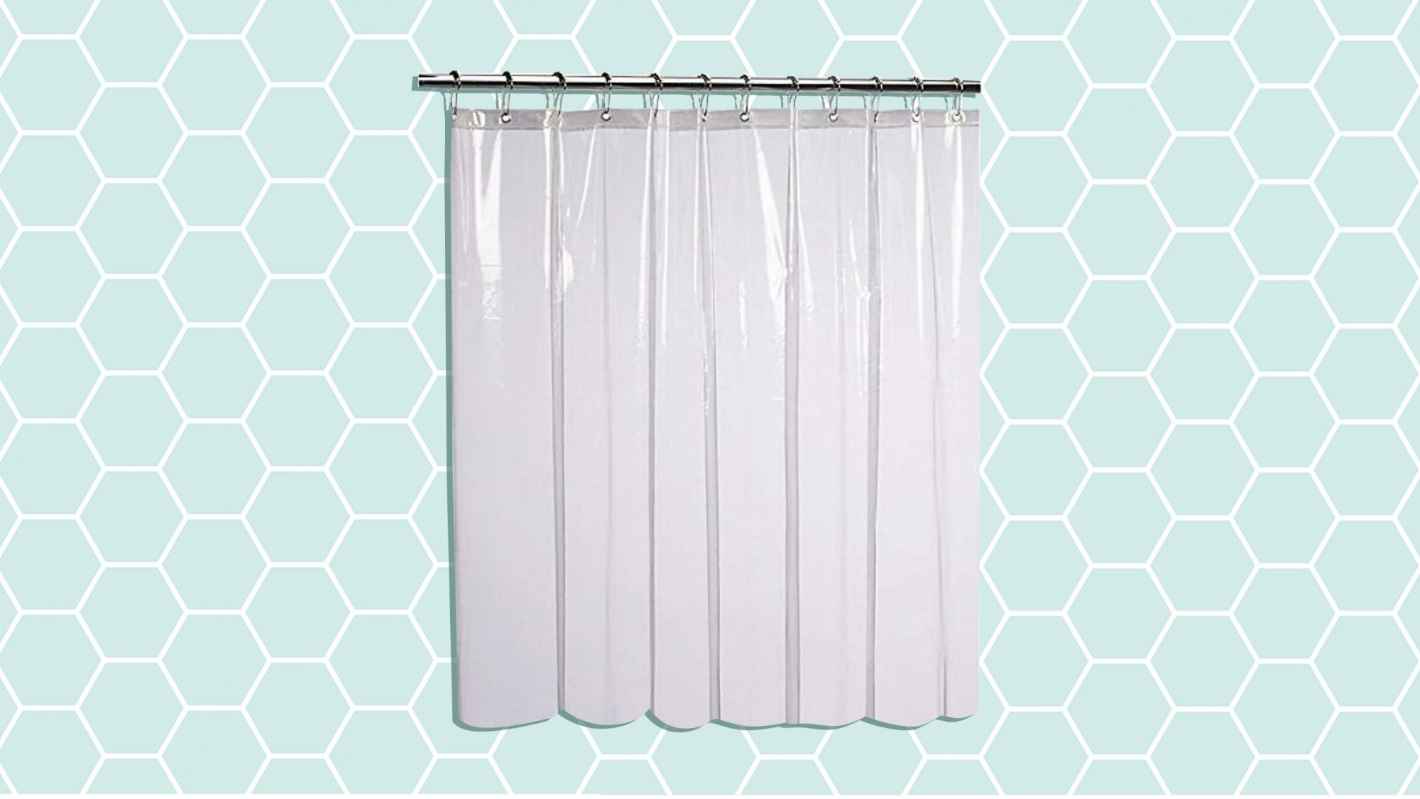 This 9 Shower Curtain Liner Is Mildew Resistant Real