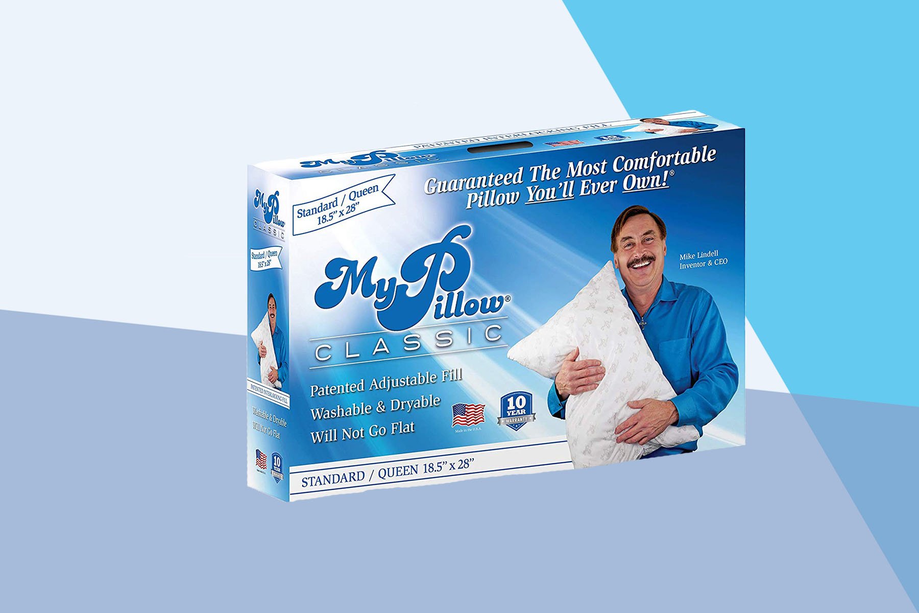 The  Most Comfortable Pillow You'll Ever Own  Comes in Four Firmness Levels for Every Type of Sleeper