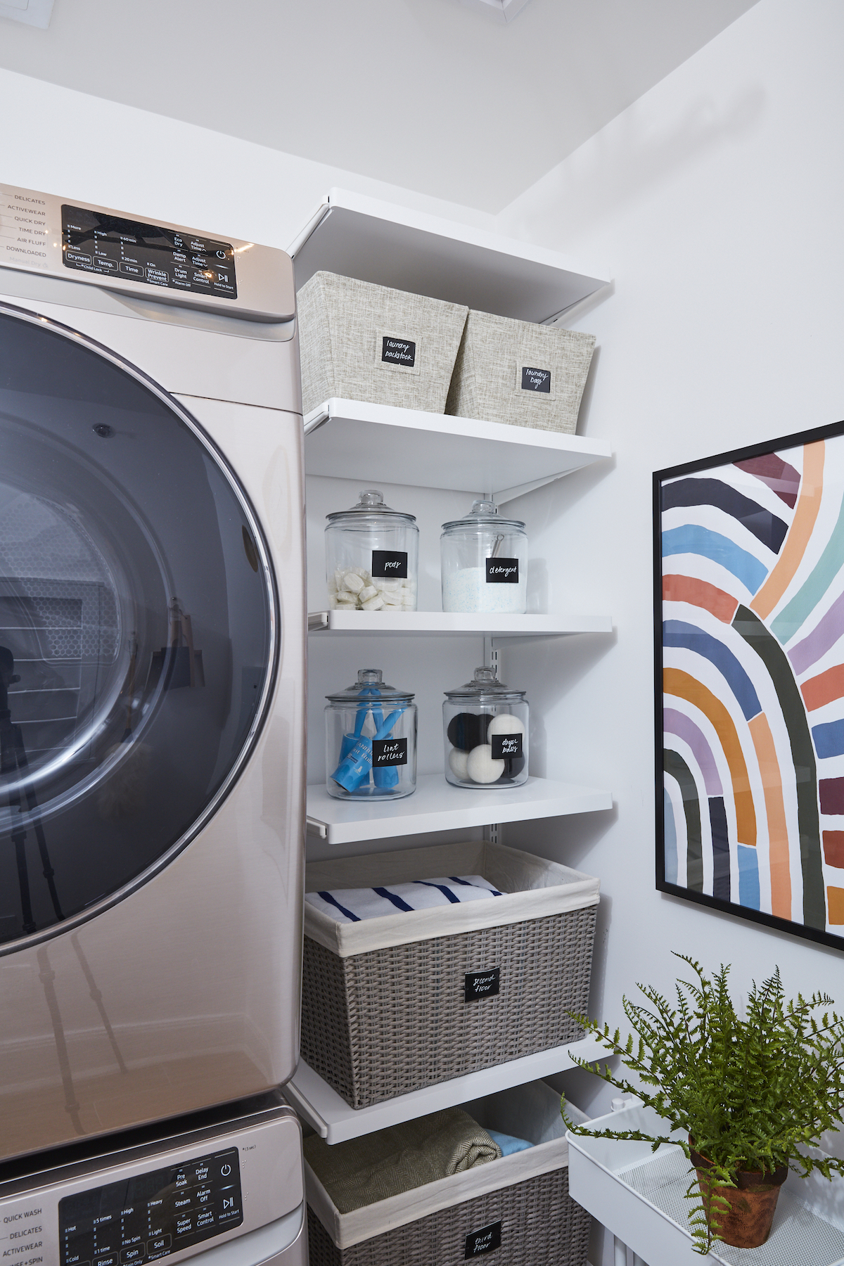 Real Simple Home Laundry Room