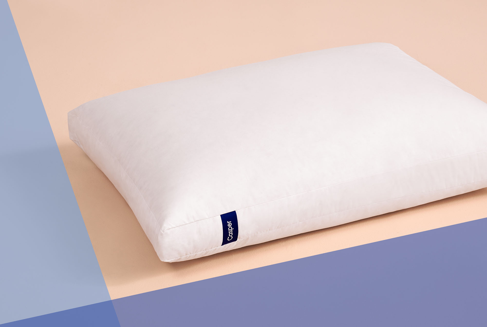 I Tried Casper's New Down Pillow That's Made for Every Sleep Position—and Now I'm Obsessed