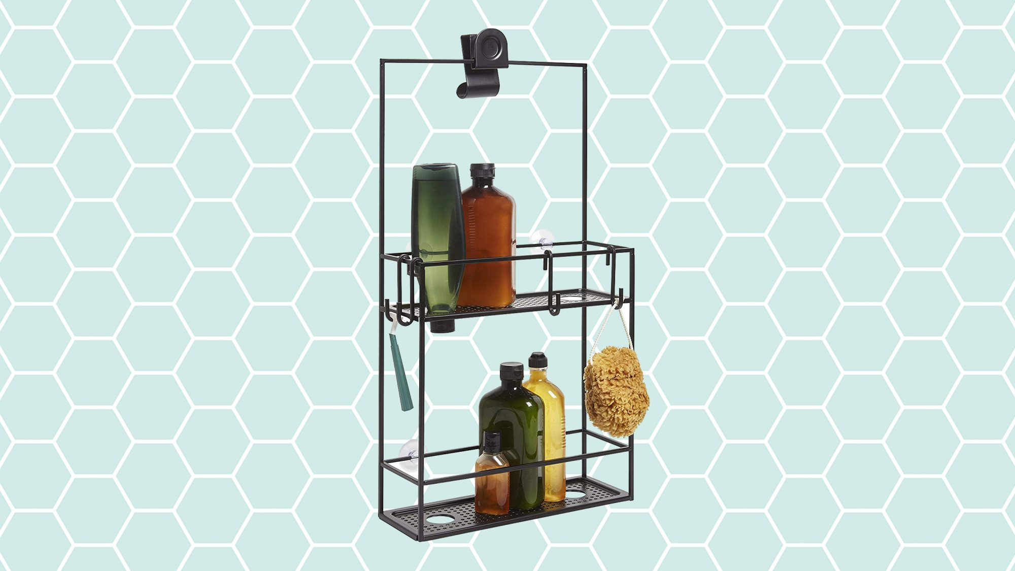 Double Your Shower Storage, Cubiko Caddy