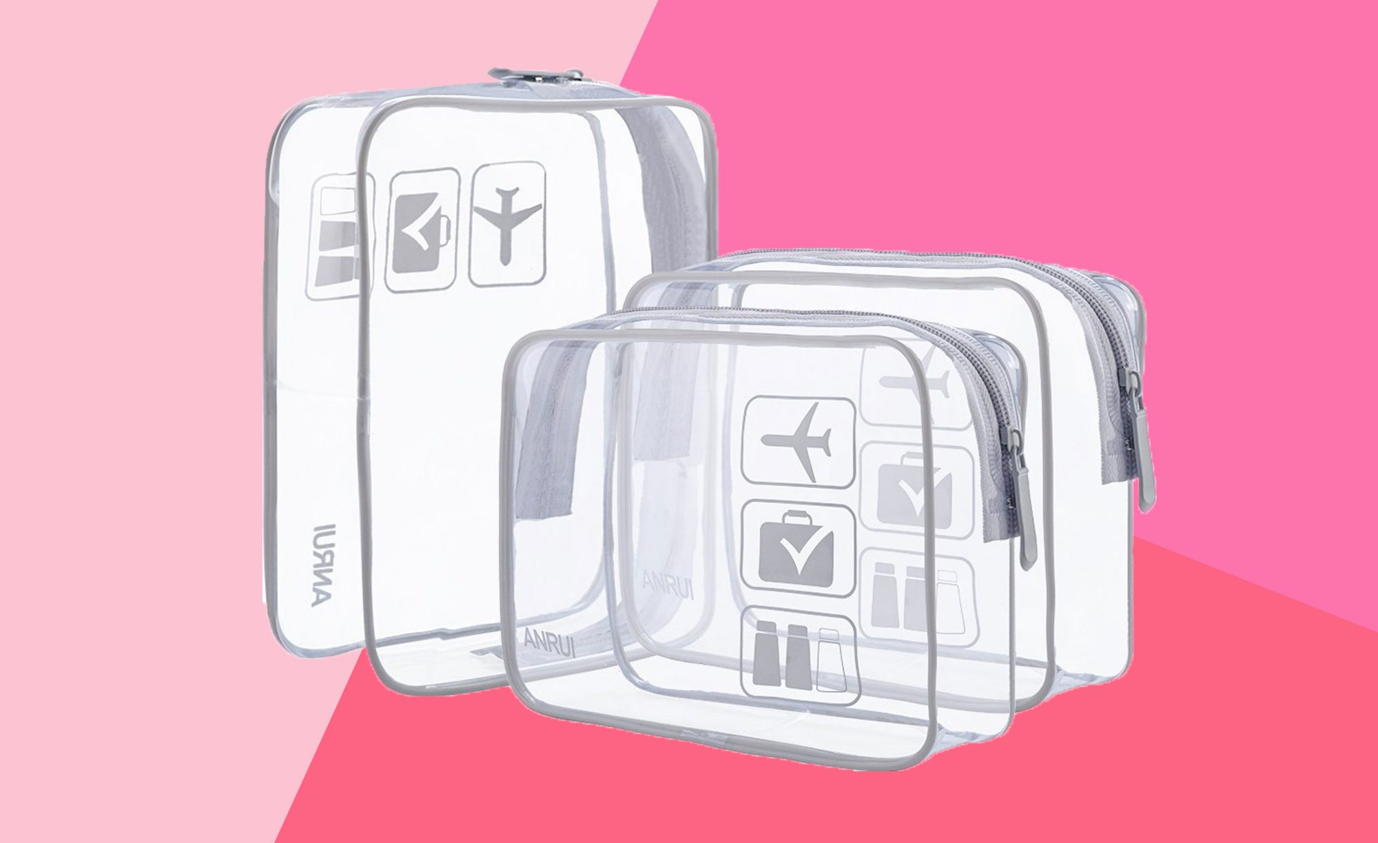 ANRUI Clear Toiletry Bag