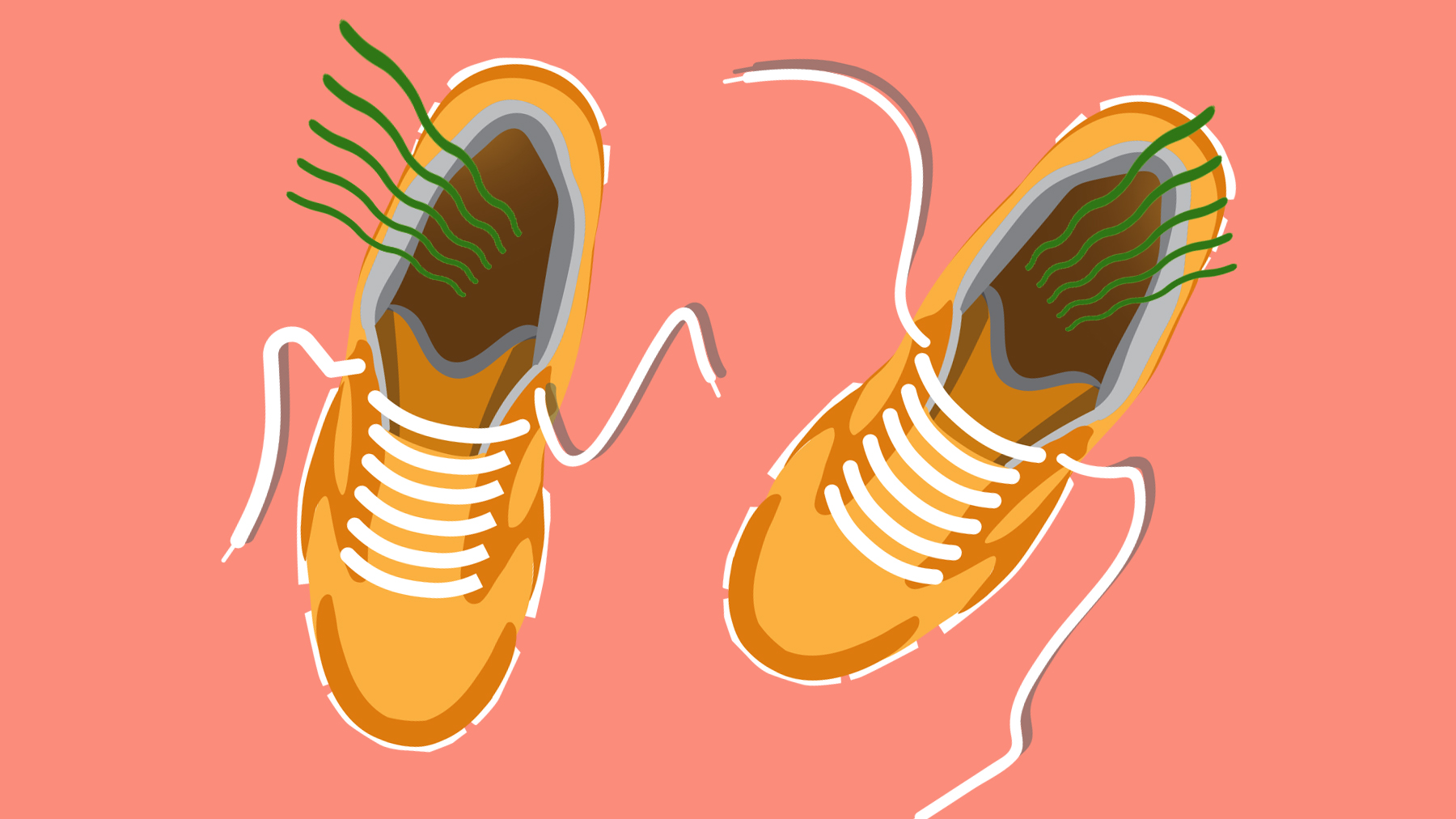 How to De-Stink Smelly Shoes