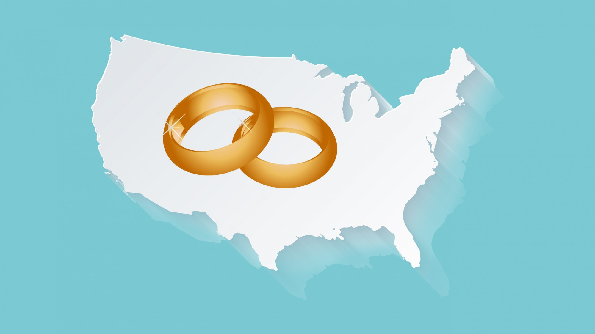 U.S. States With the Lowest and Highest Divorce Rates