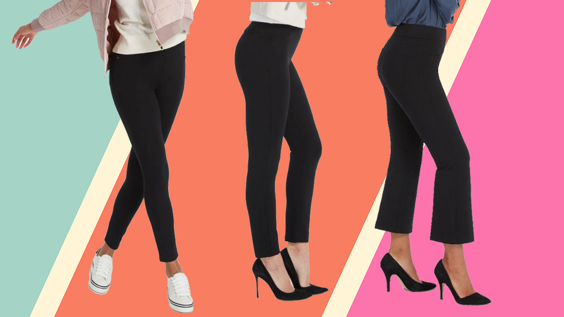 These Comfortable Work-Perfect Pants Feel Just Like Yoga Pants—and I'm Obsessed