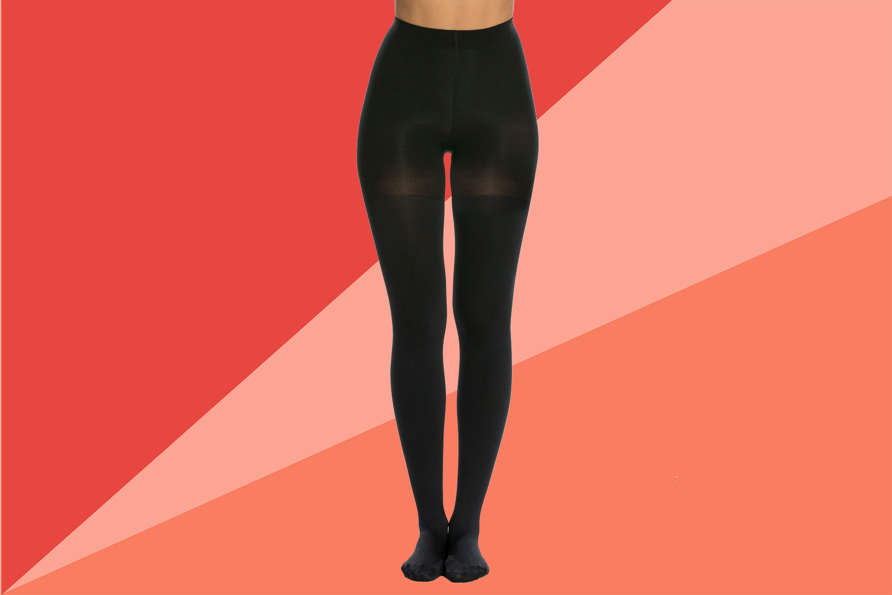 Tout: Spanx Luxe Leg Blackout Mid-Thigh Shaping Tights