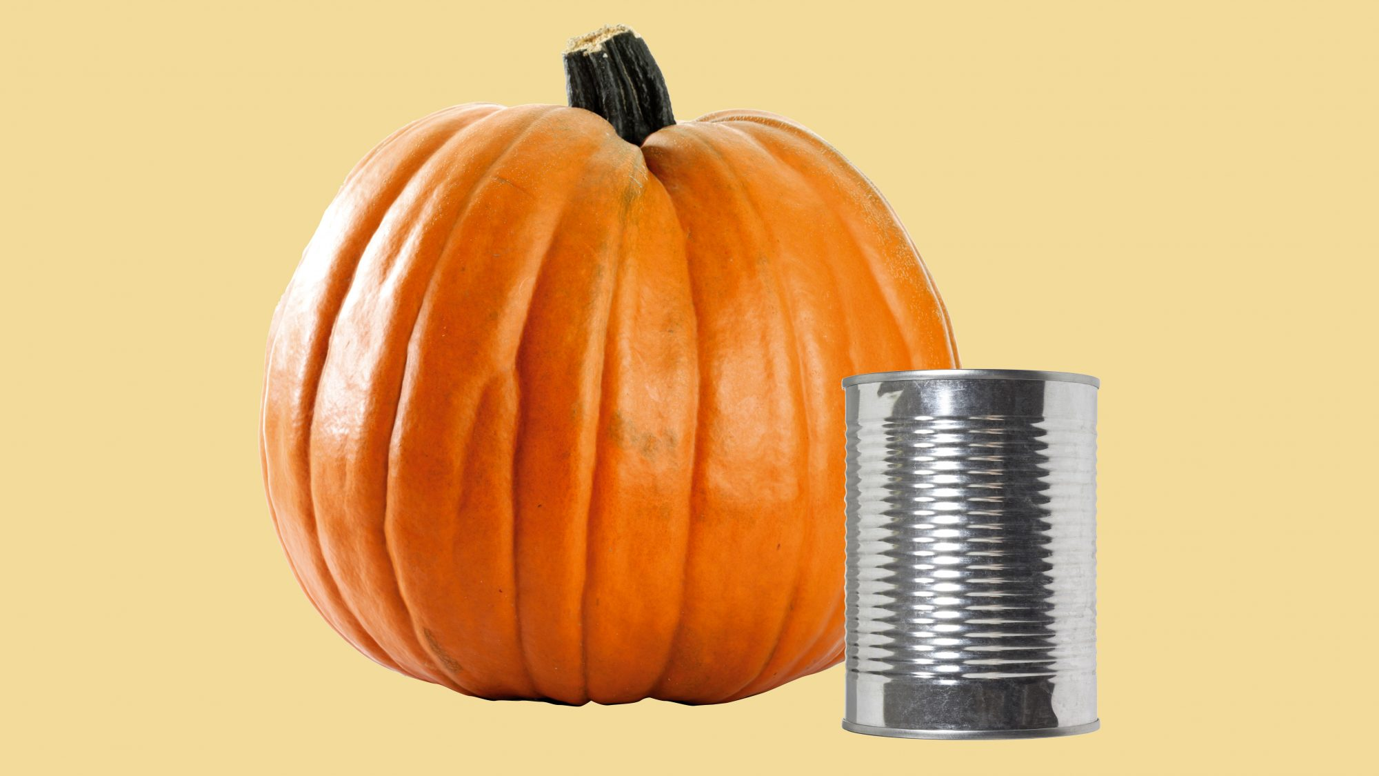canned pumpkin vs. pumpkin pie mix