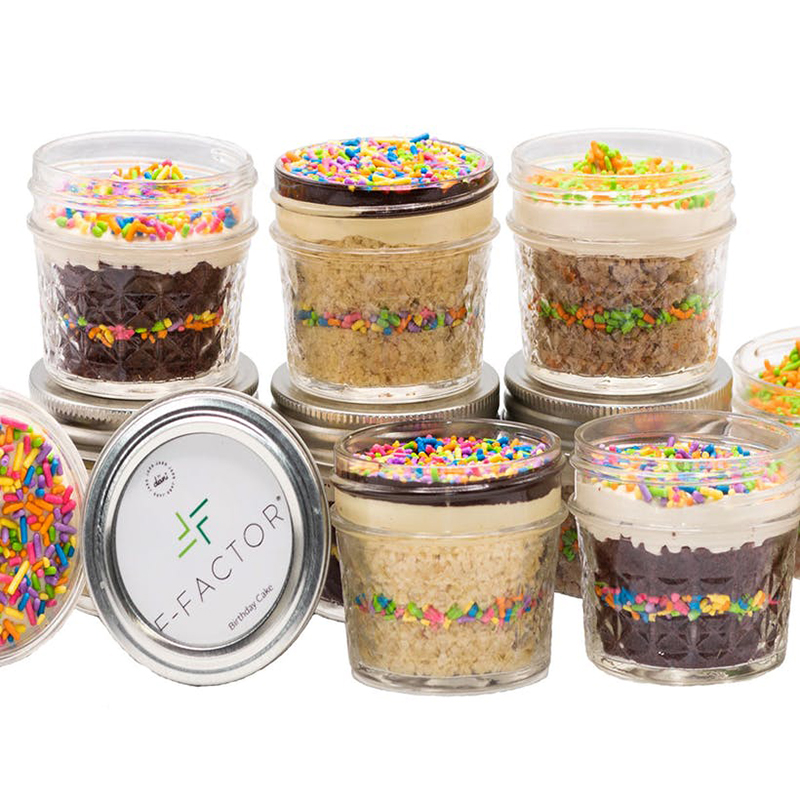 Goldbelly F-Factor Mini Cake Jars