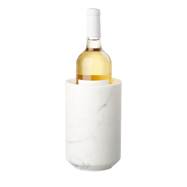 Best hostess gifts, ideas – CB2 Stone Cold Marble Wine Chiller