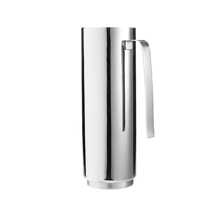 CB2 Column Stainless Steel Pitcher