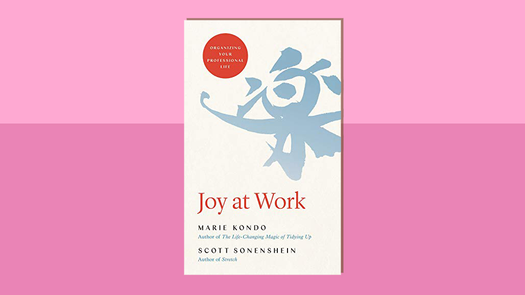 Marie Kondo New Book, Joy at Work