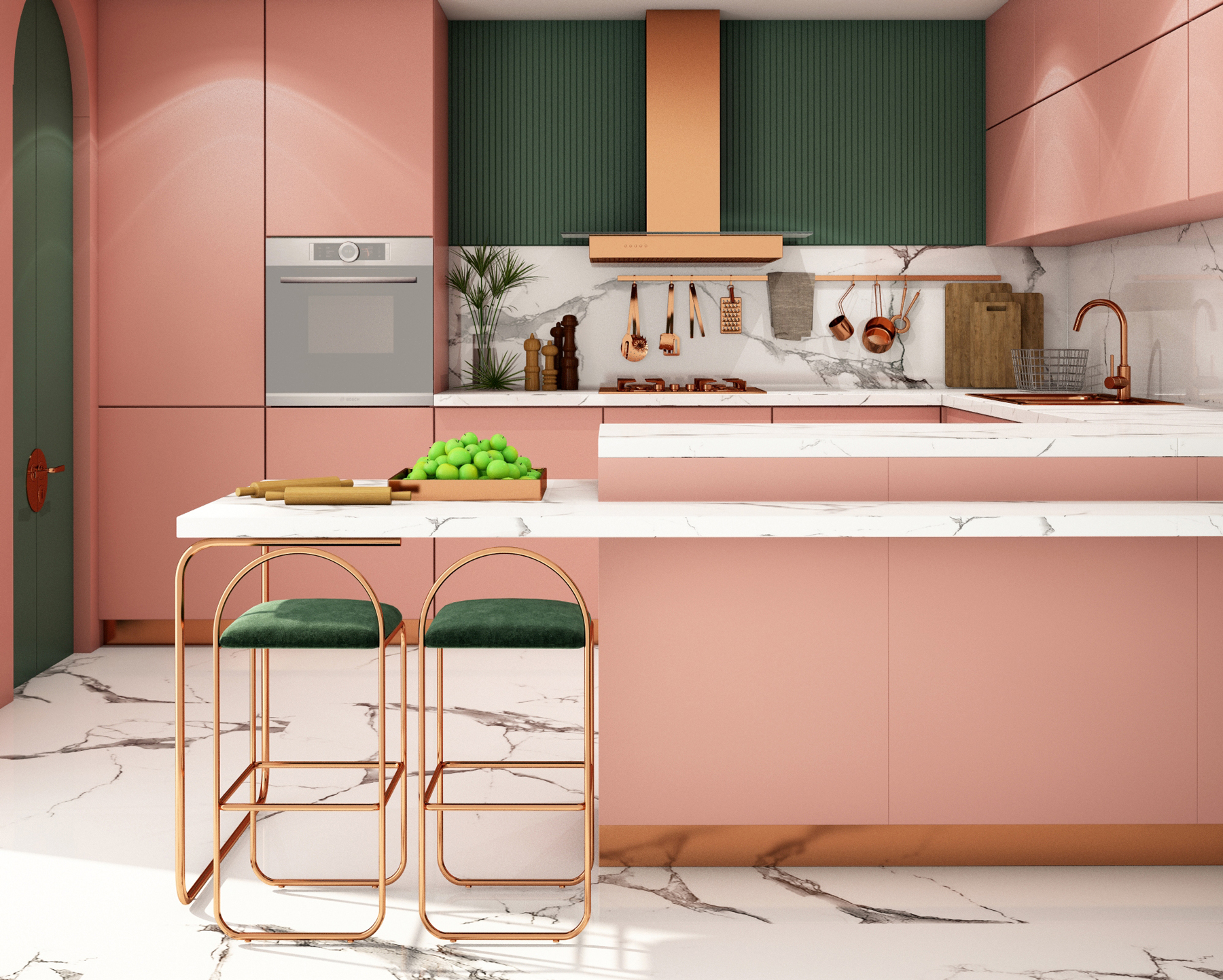 How to paint kitchen cabinets - step-by-step guide for painting cabinets