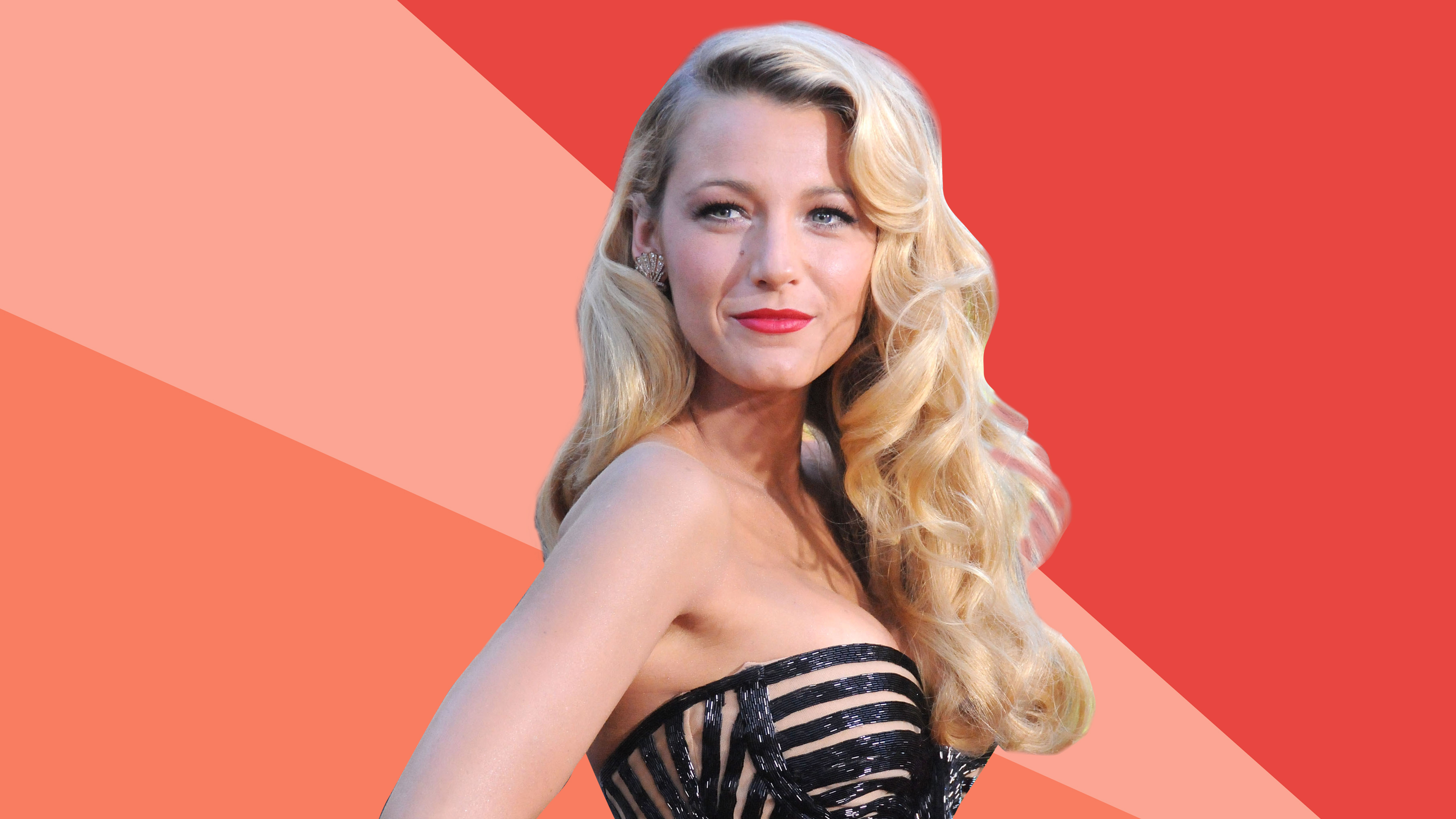 Blake Lively Classic Curls holiday hair