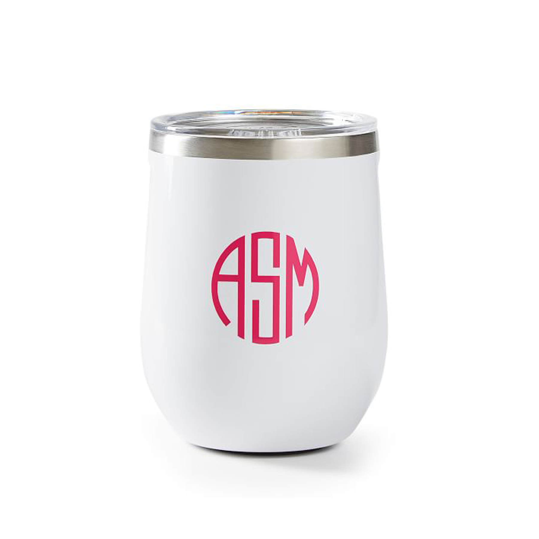 Cheap Christmas Gifts: Corkcicle monogrammed stemless wine cup