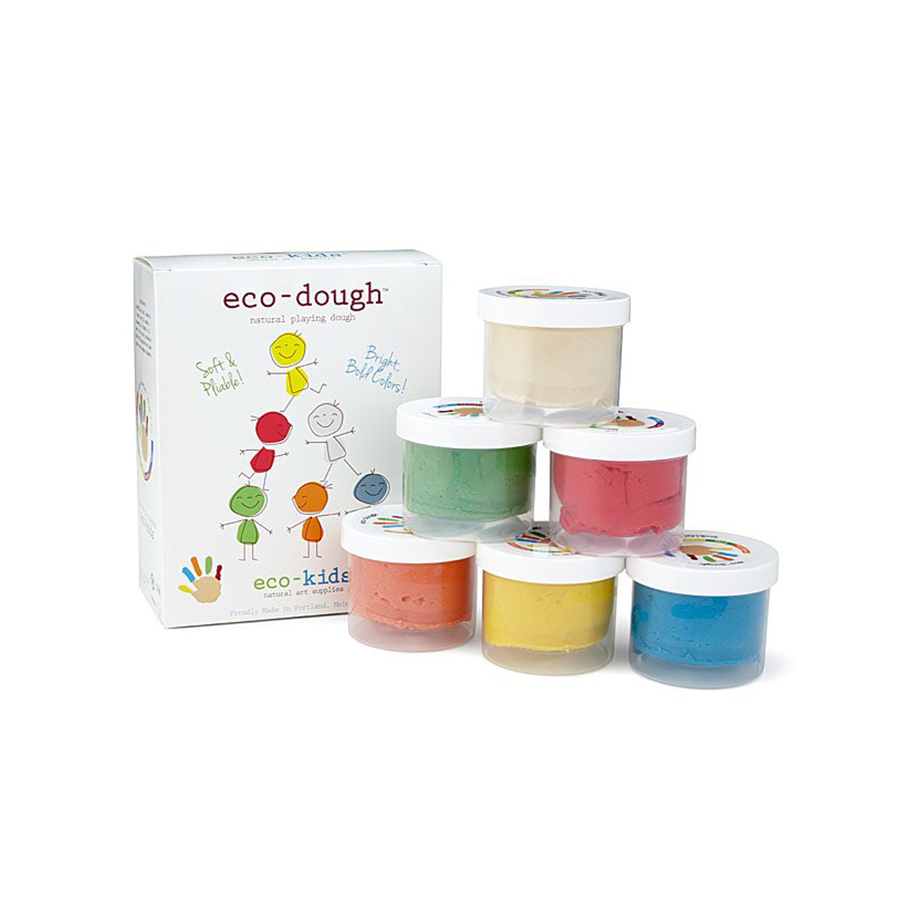 Cheap Christmas Gifts for Kids: Eco-Dough natural playing dough