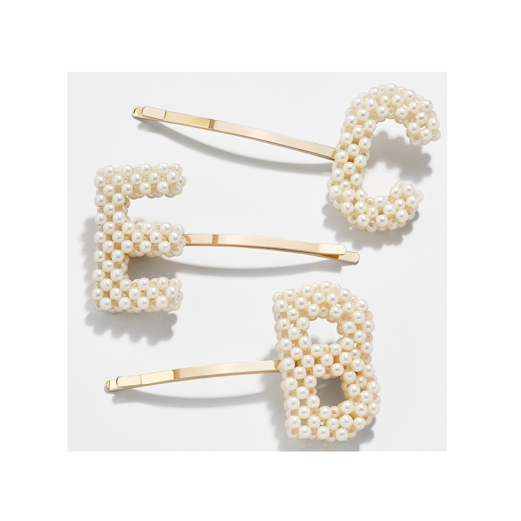 Cheap Christmas Gifts: Bauble Bar pearl rectangle hair pin