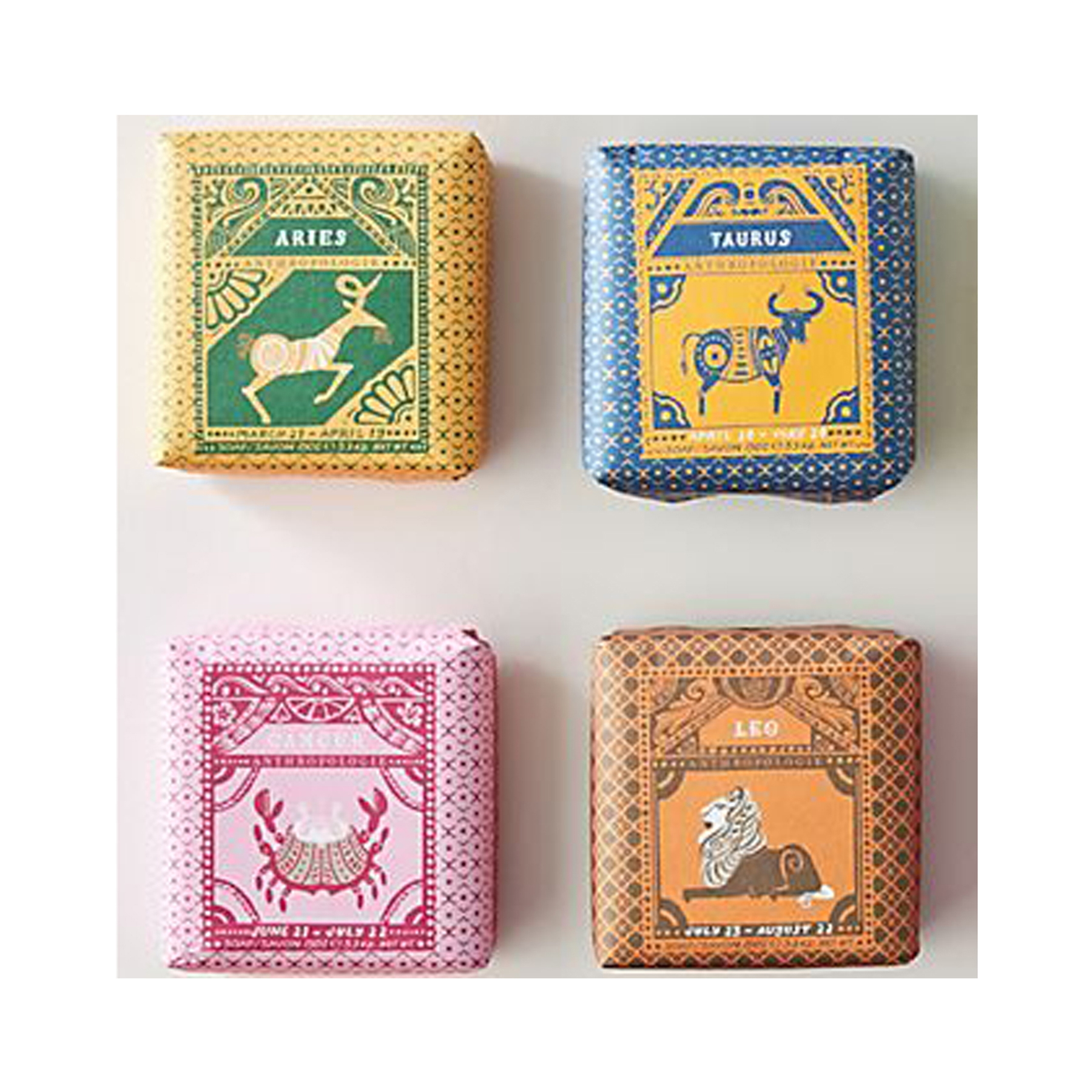 Cheap Christmas Gifts: Anthropologie Zodiac Bar Soap