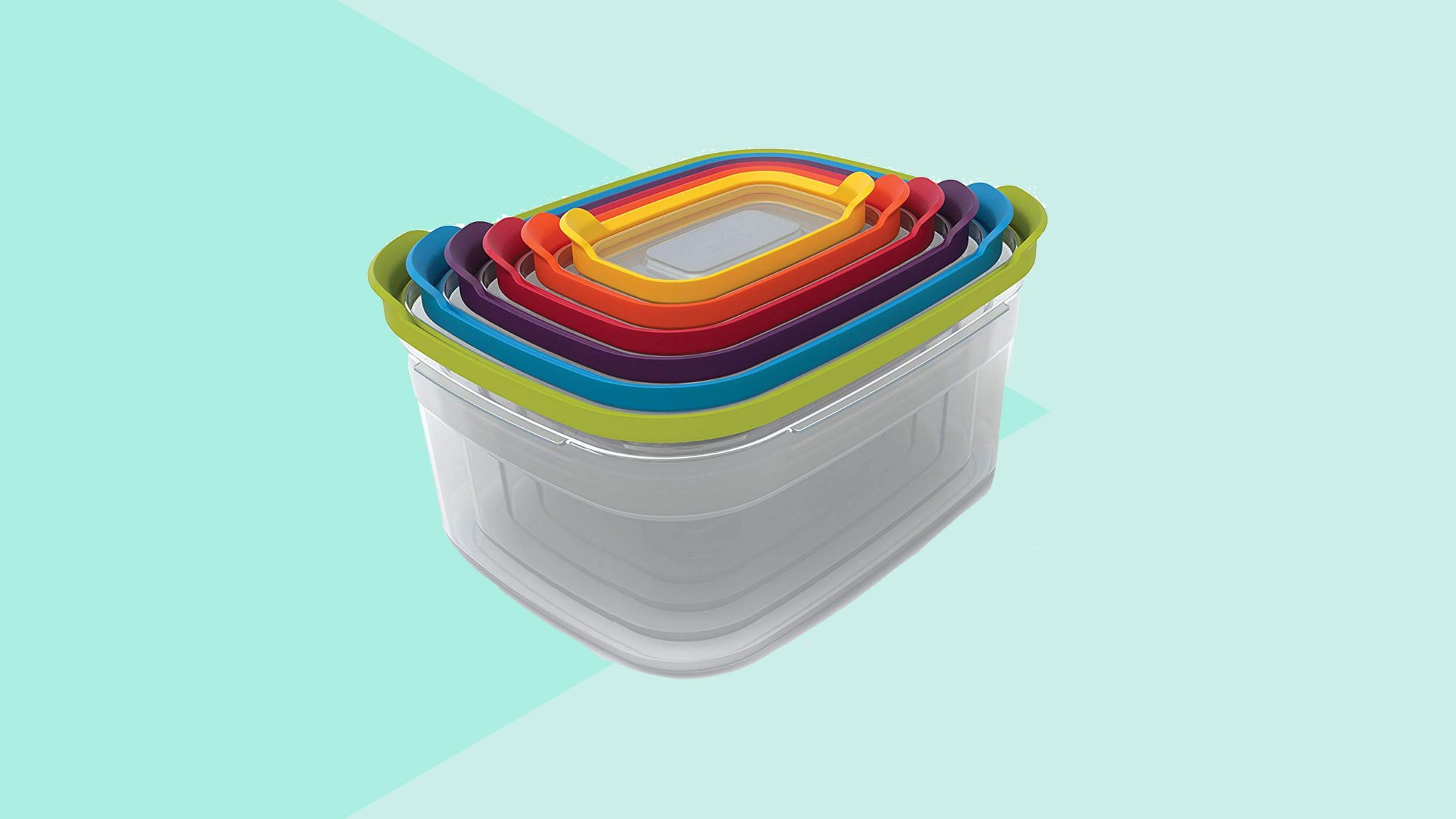 Amazon Shoppers Say These Snap-Together Nesting Food Containers Are