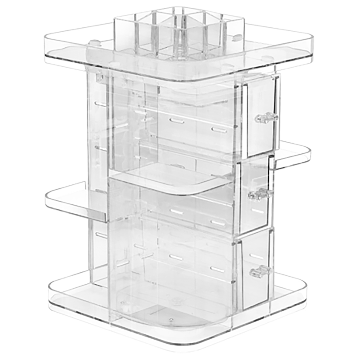 Mainstays 360° Rotating Makeup Organizer
