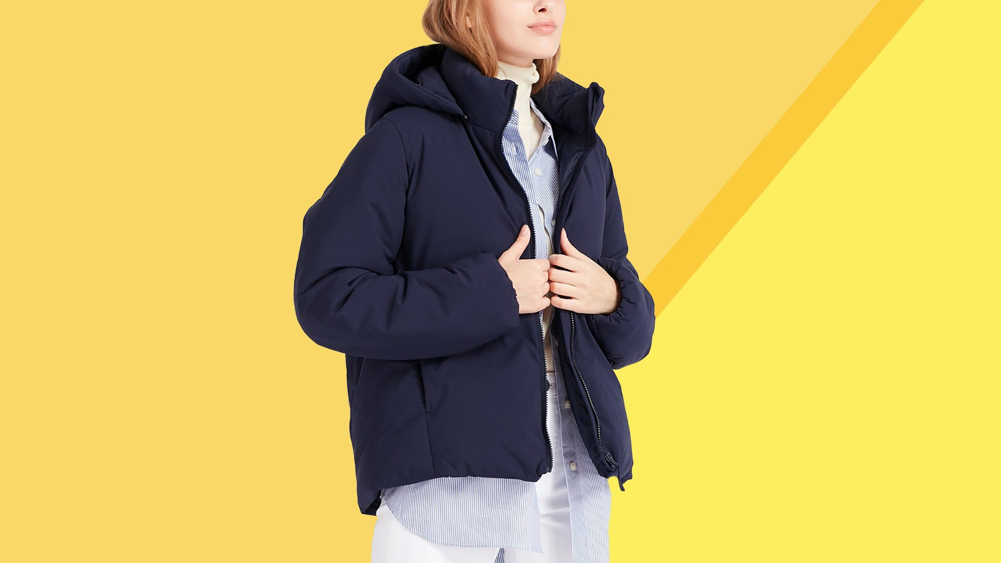 This Down Coat Keeps Me Almost Too Warm—and It's on Sale for $60