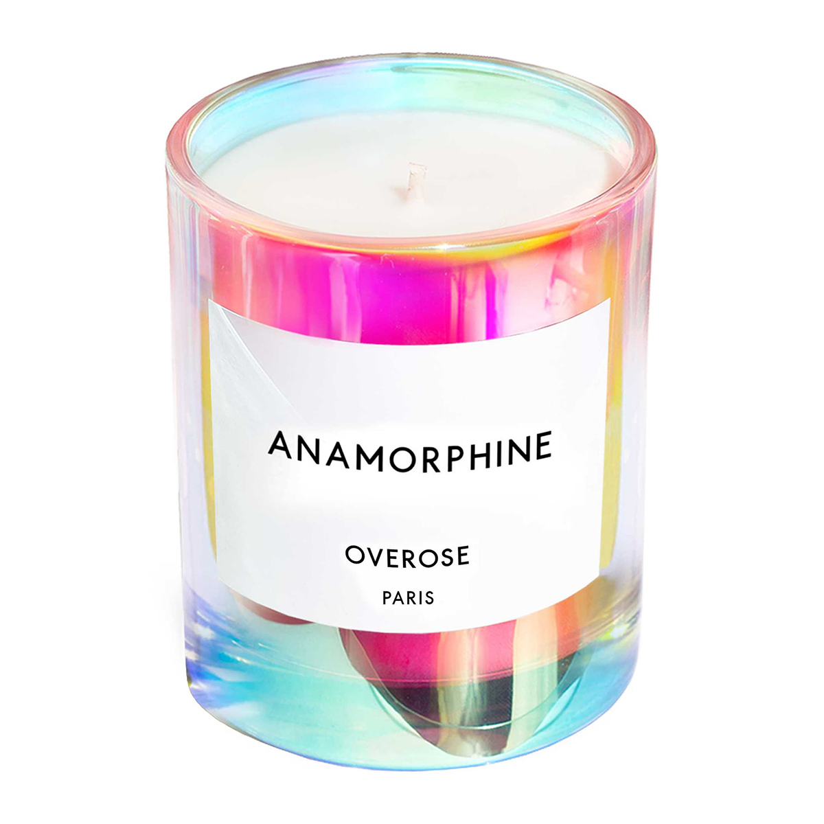 Overose Holographic Anamorphine Candle