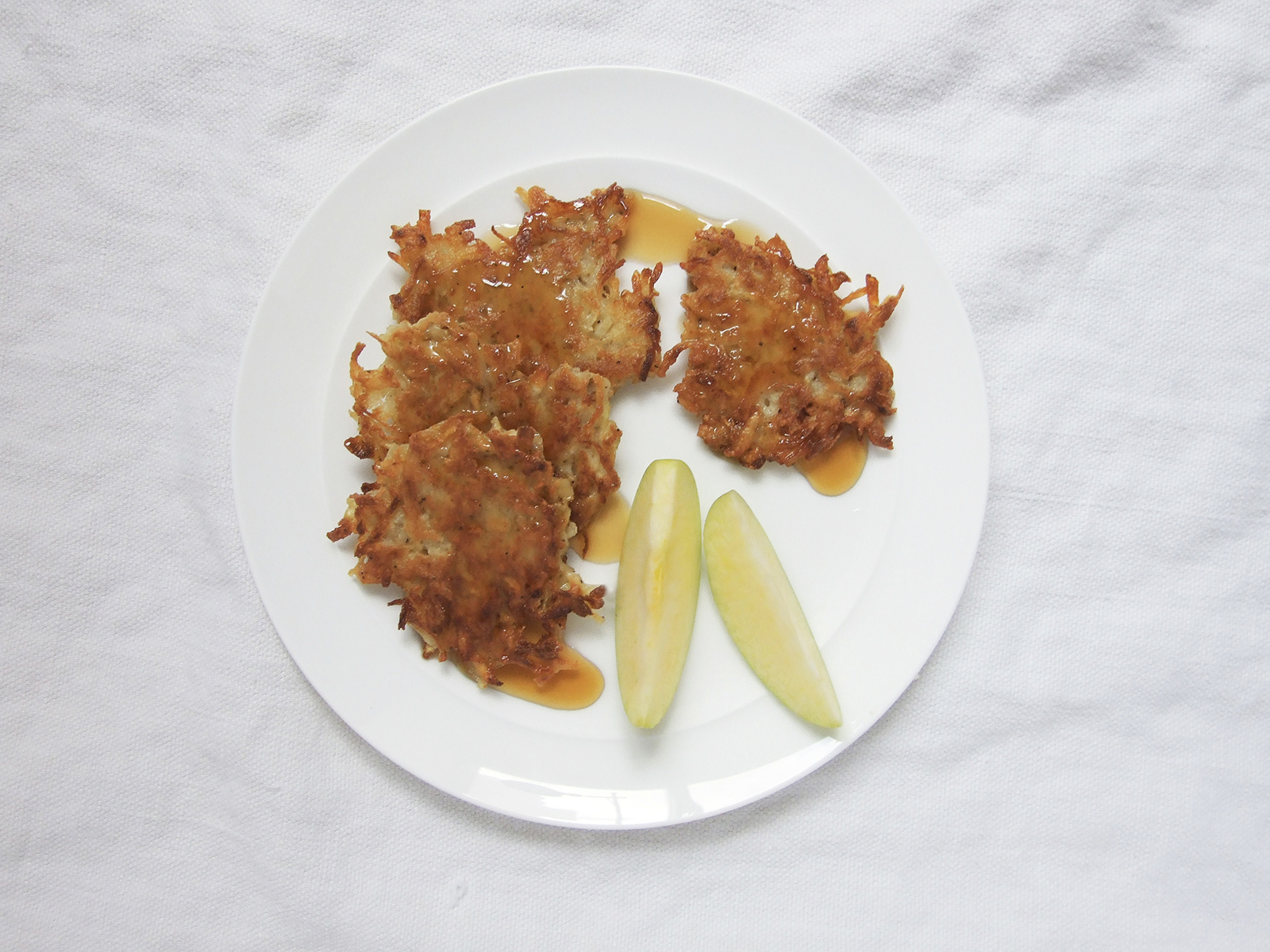 Apple Cinnamon Latkes