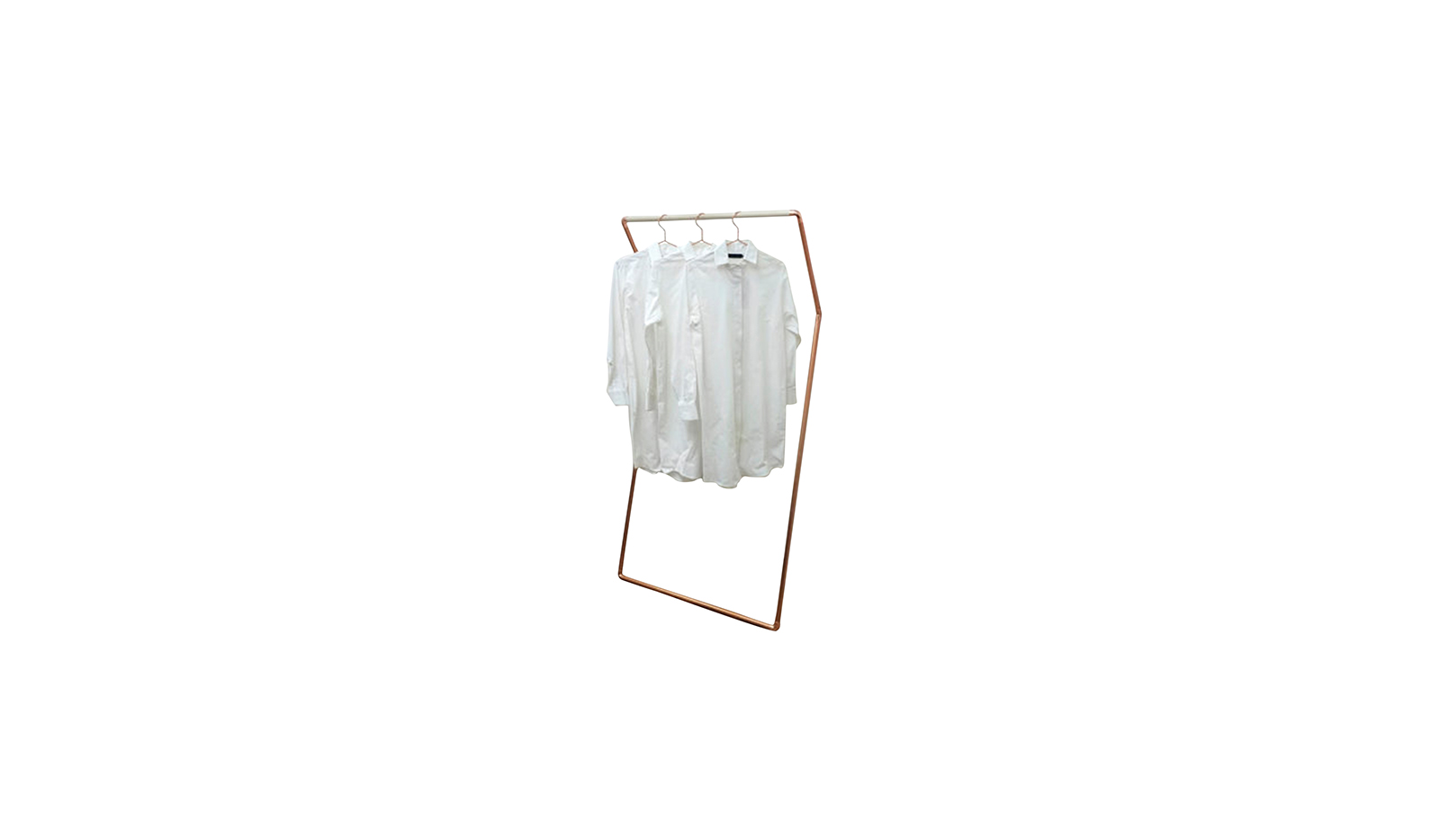 K Rack Leaning Wall Clothing Rack