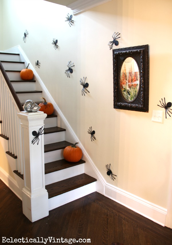 Staircase Ideas Creative Ways To Add Style: 10 Creative Places To Decorate Your House For Halloween
